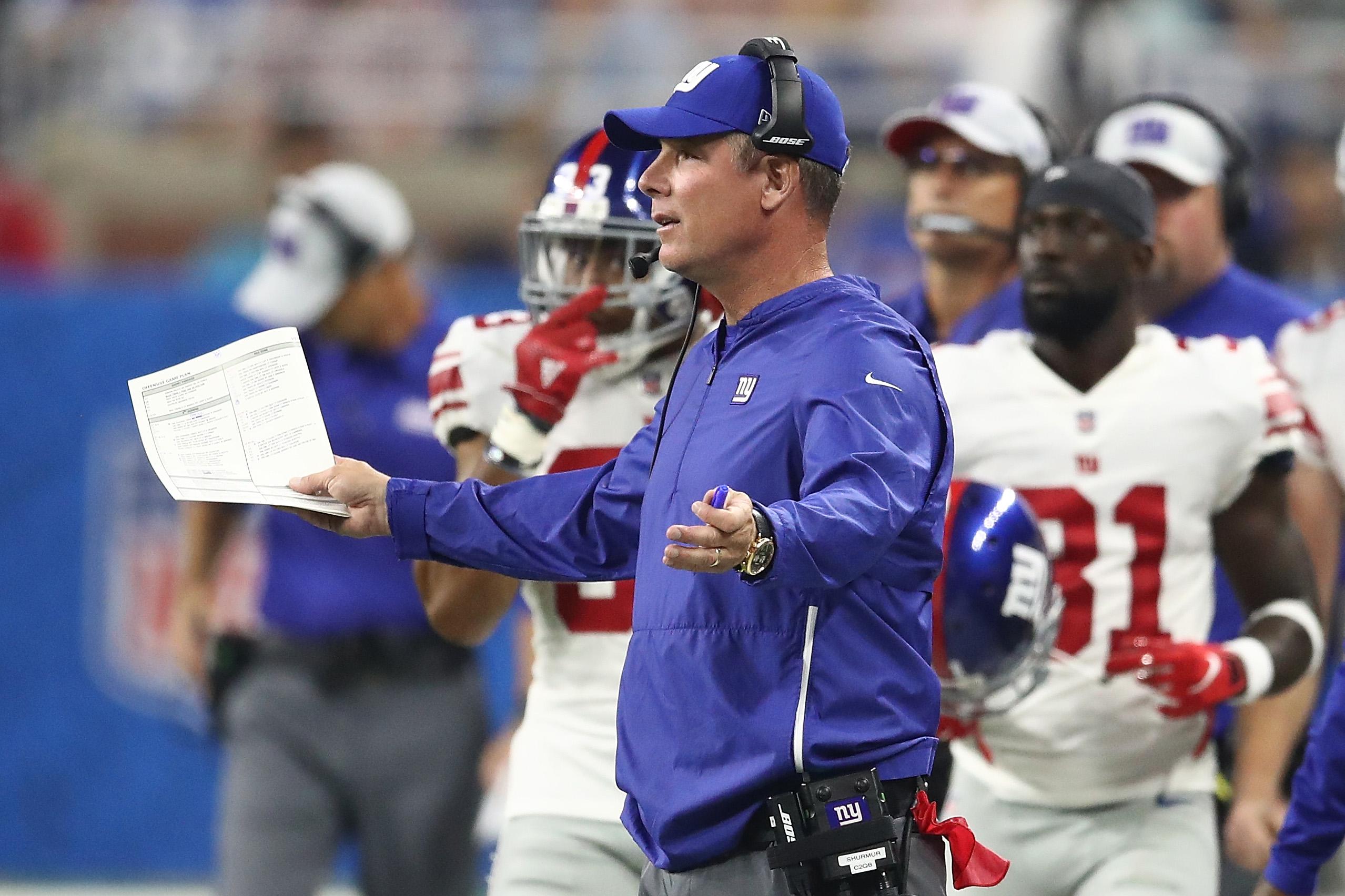 New York Giants vDetroit Lions