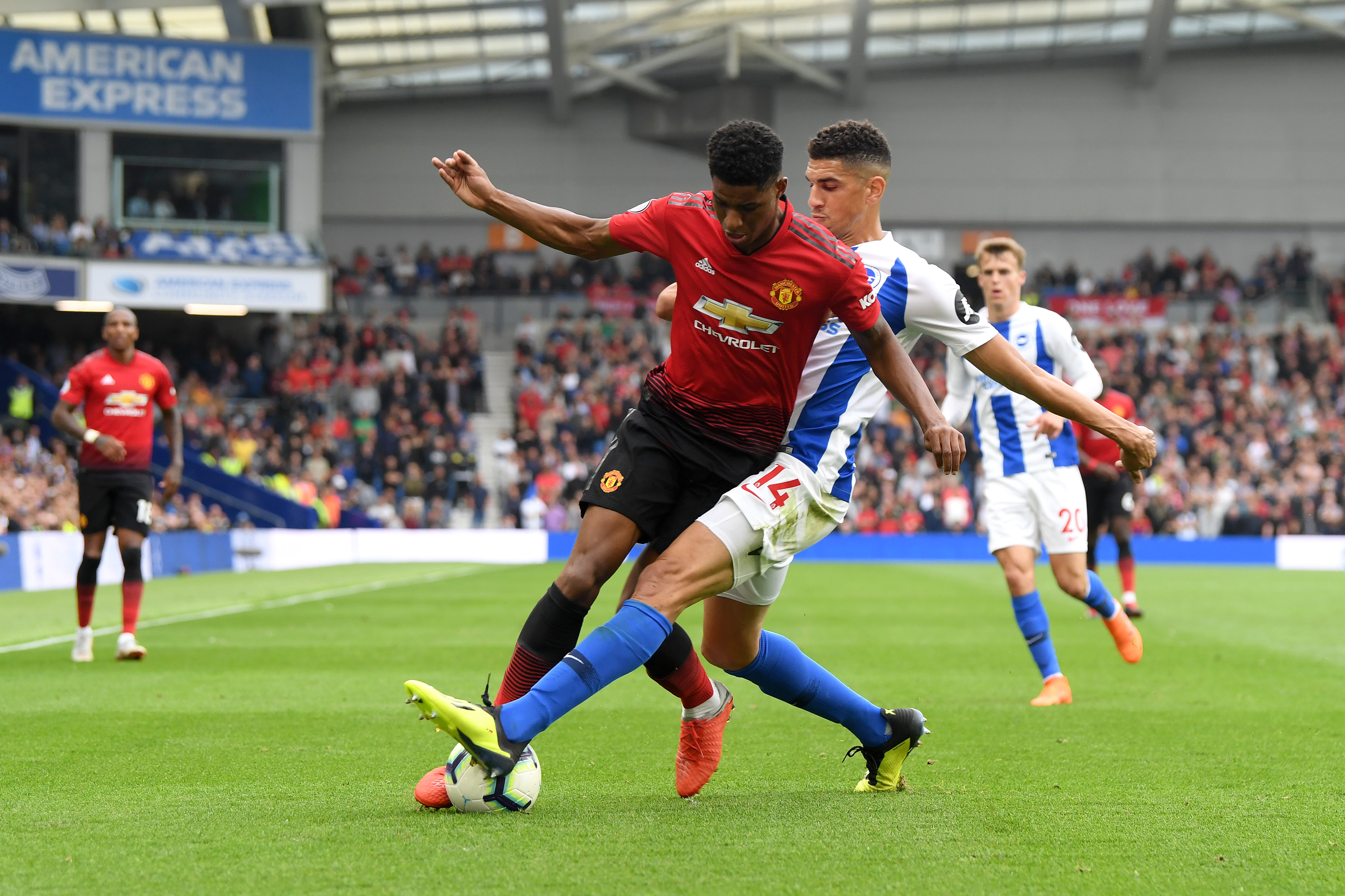 Brighton 3-2 United: absolute garbage from start to finish