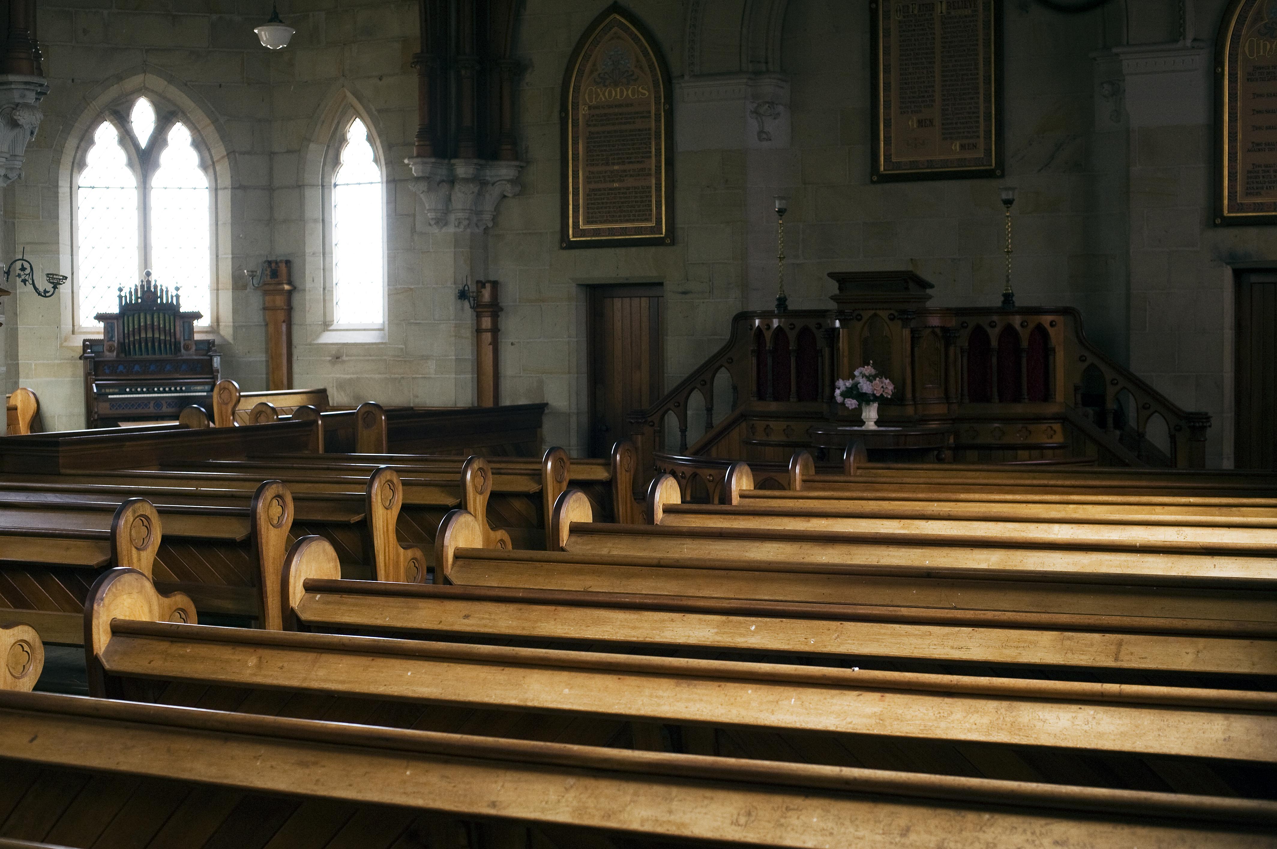 An empty church