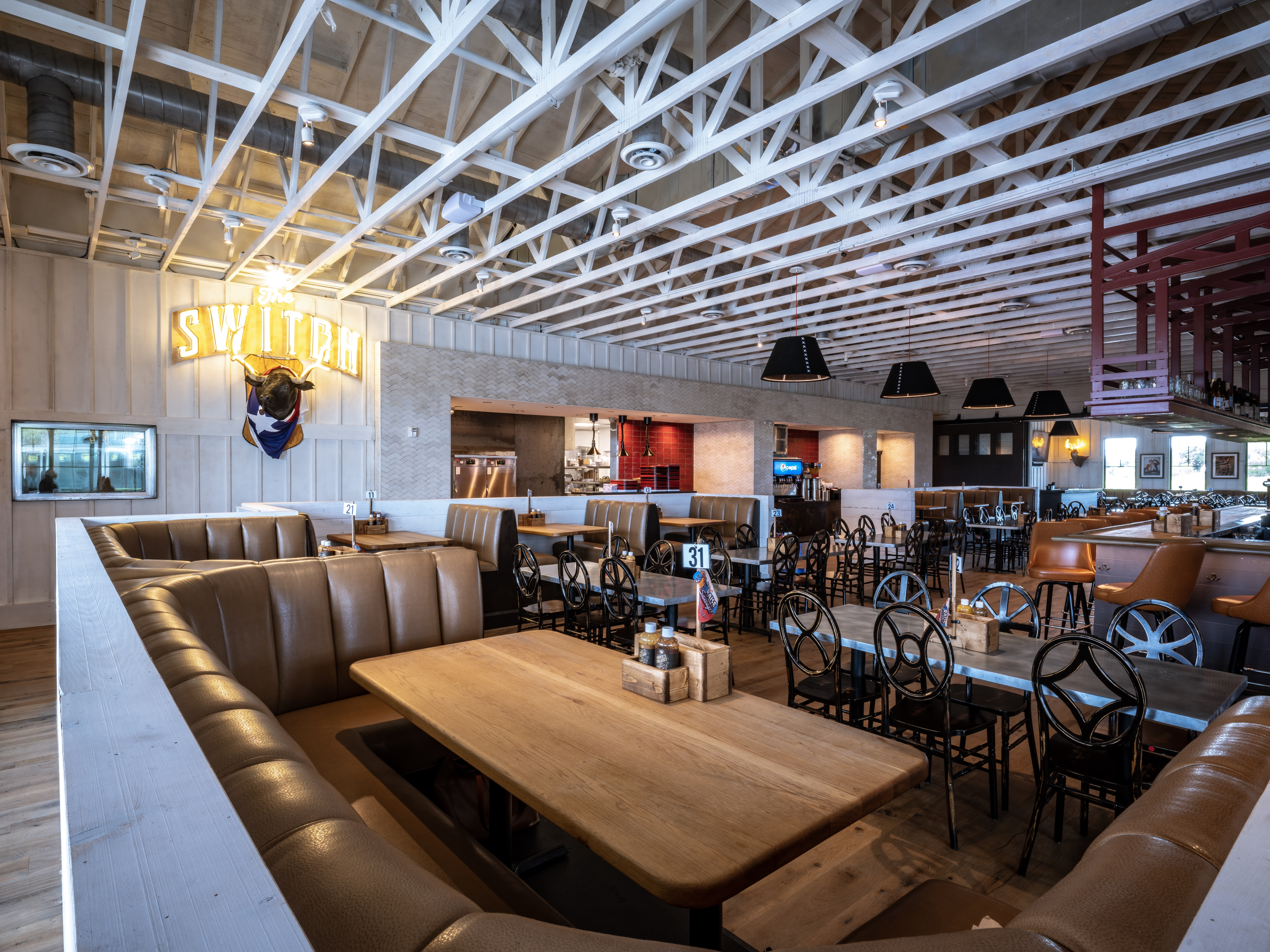 The dining room at The Switch