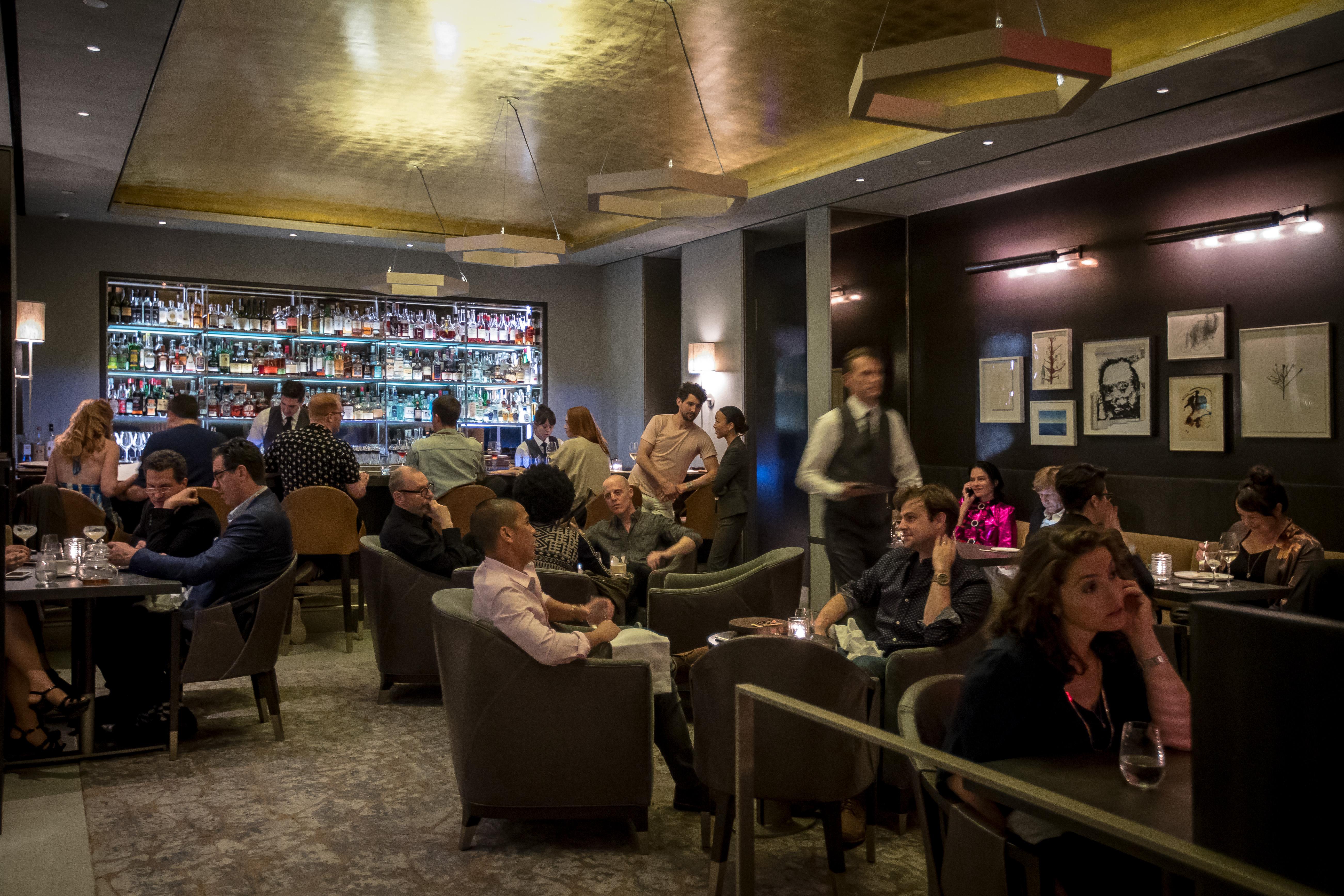 Eleven Madison Park's bar area