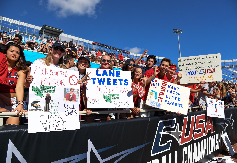 Conference USA Championship - North Texas v Florida Atlantic