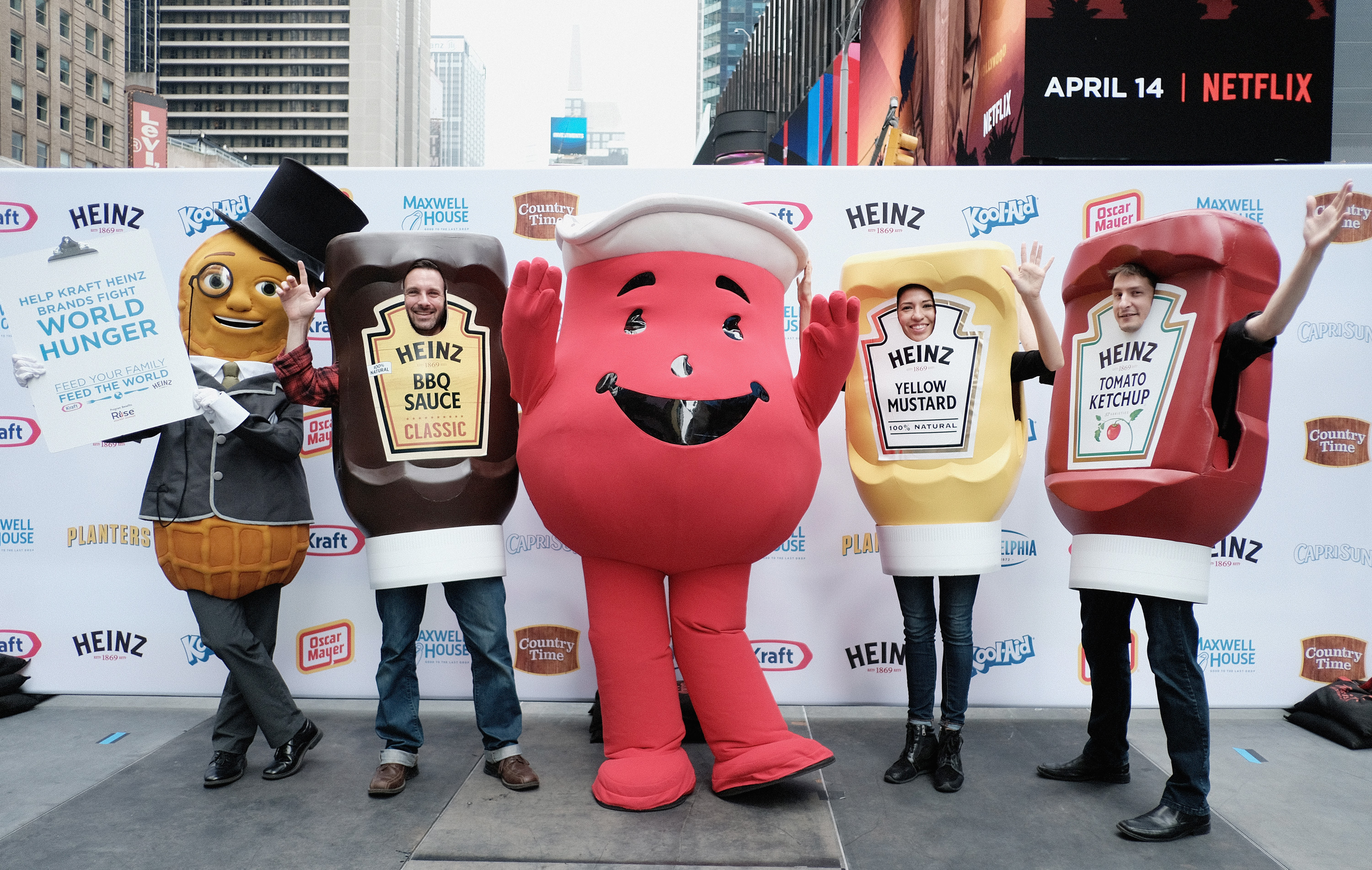 Kraft Heinz Launches 'Feed Your Family, Feed The World' Program