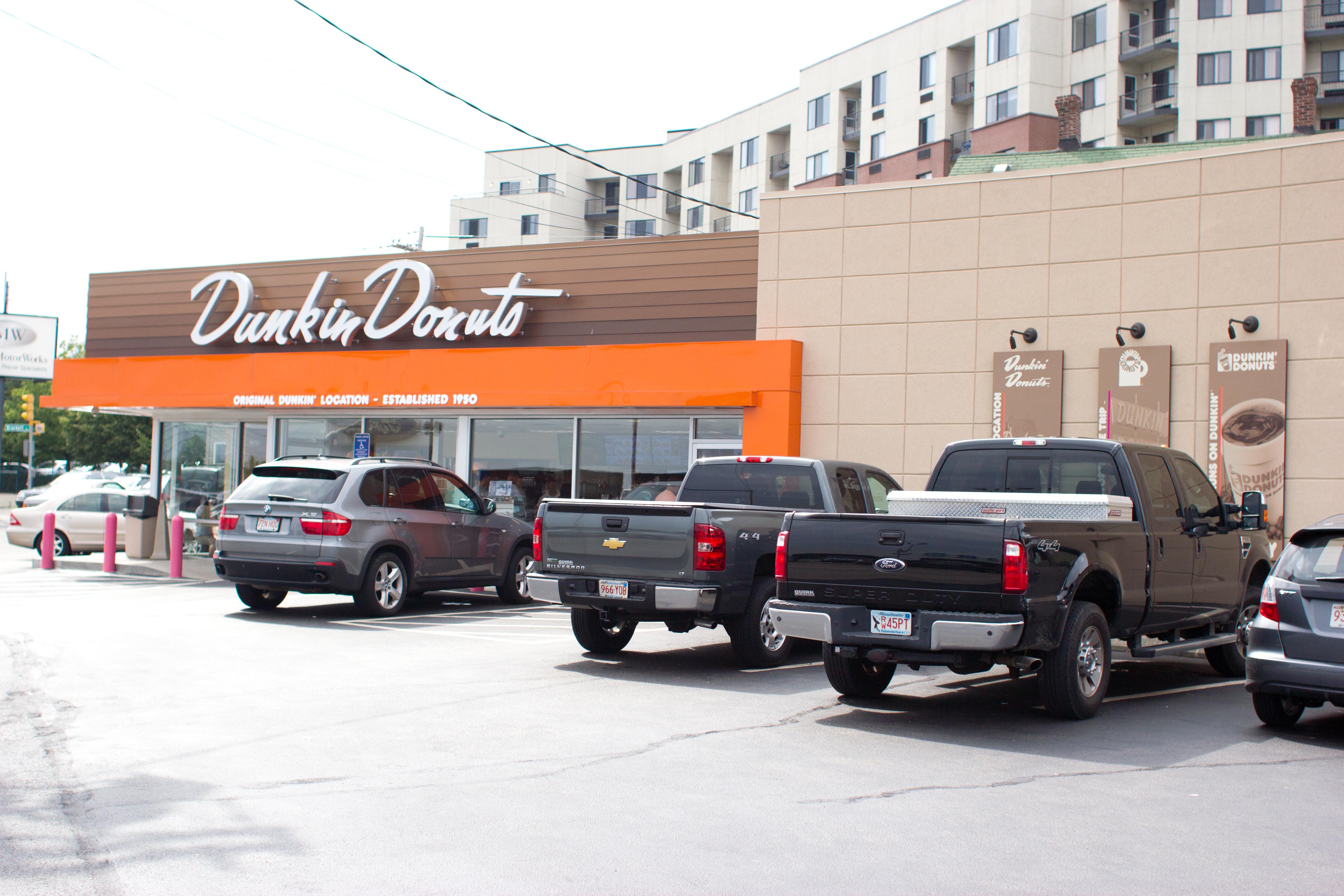original Dunkin' Donuts in Quincy, Massachusetts