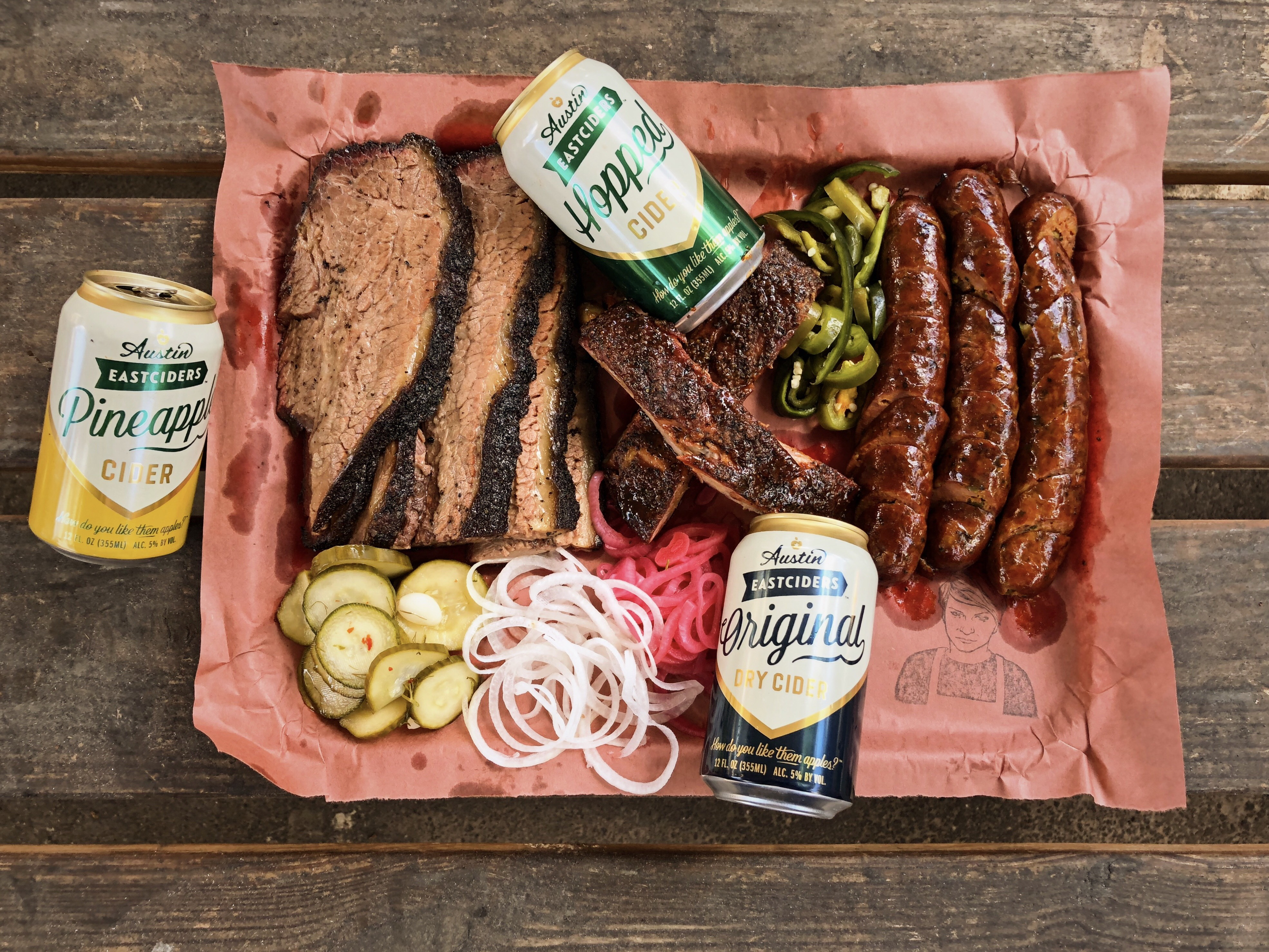 La Barbecue and Austin Eastciders