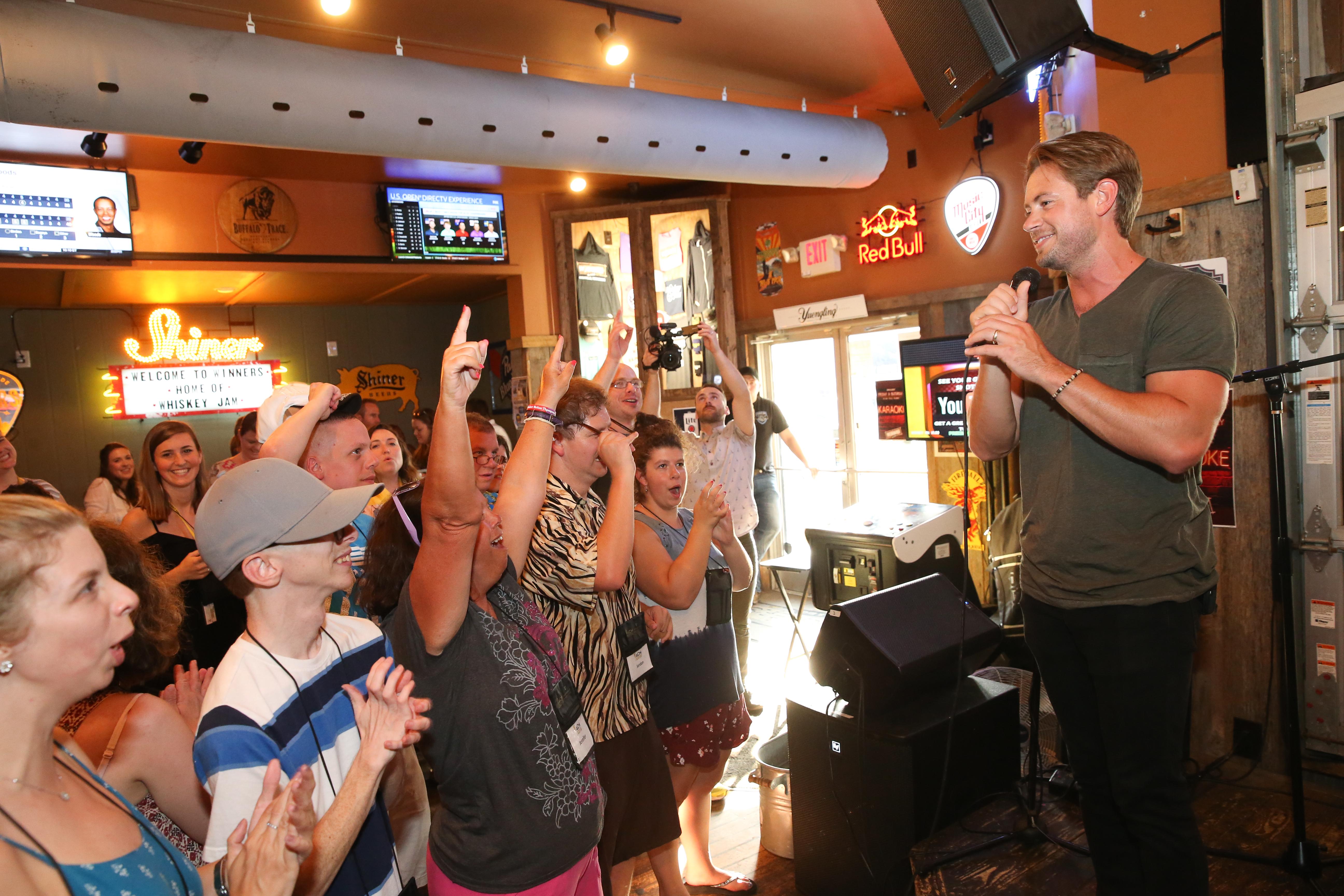 ACM Lifting Lives Music Camp Karaoke Night with Brandon Lay