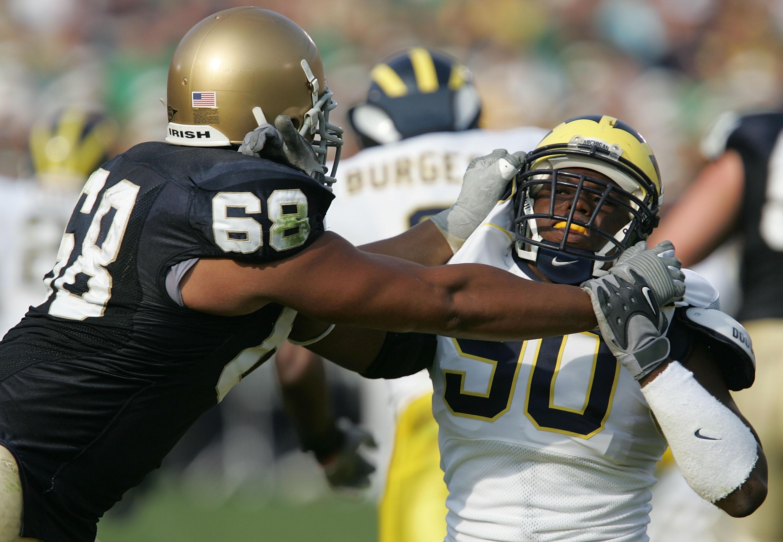 Michigan Wolverines v Notre Dame Fighting Irish