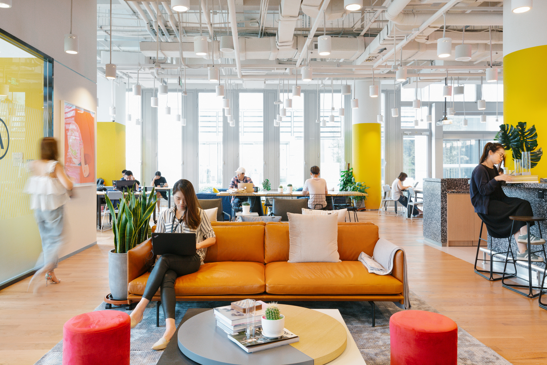WeWork office interior