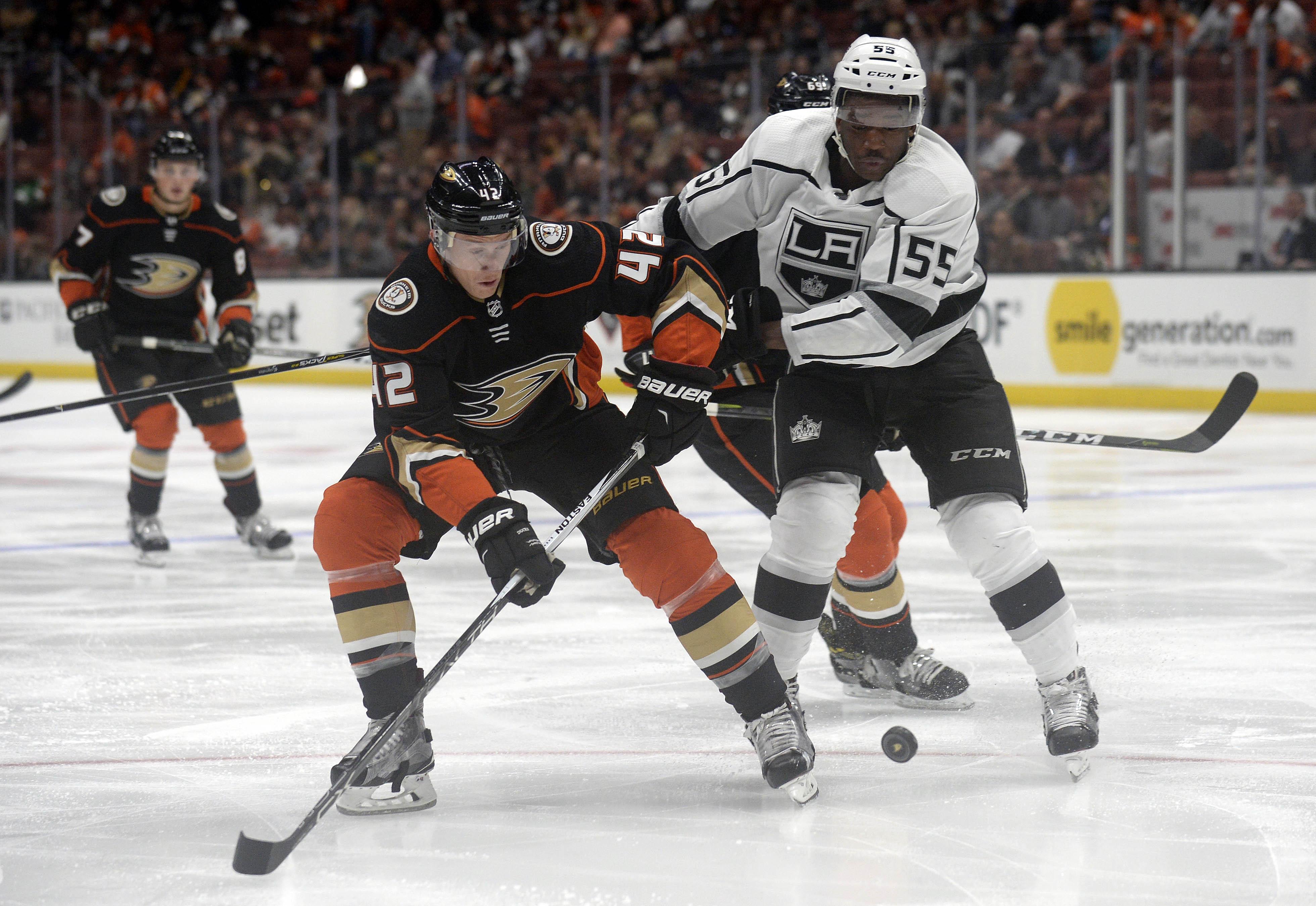 NHL: Preseason-Los Angeles Kings at Anaheim Ducks