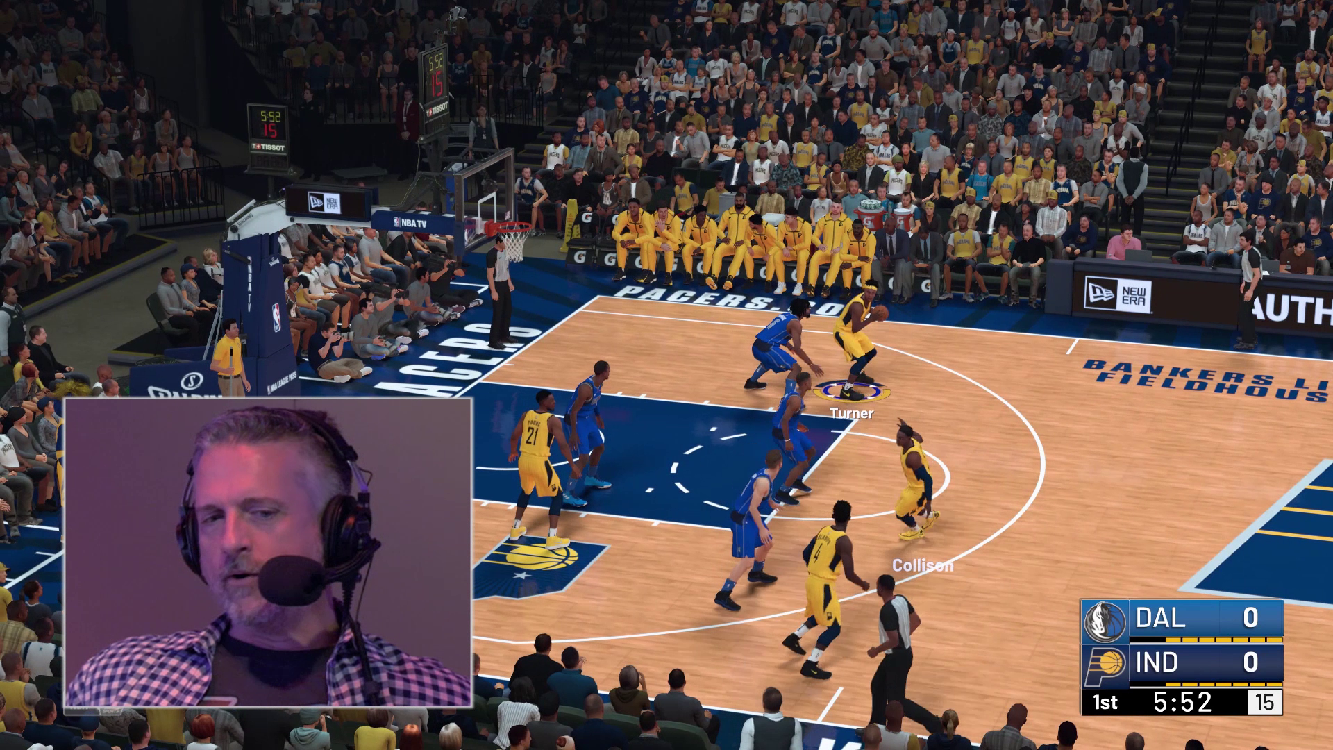 Get a look at NBA 2K19's gameplay — and a listen to special guest
