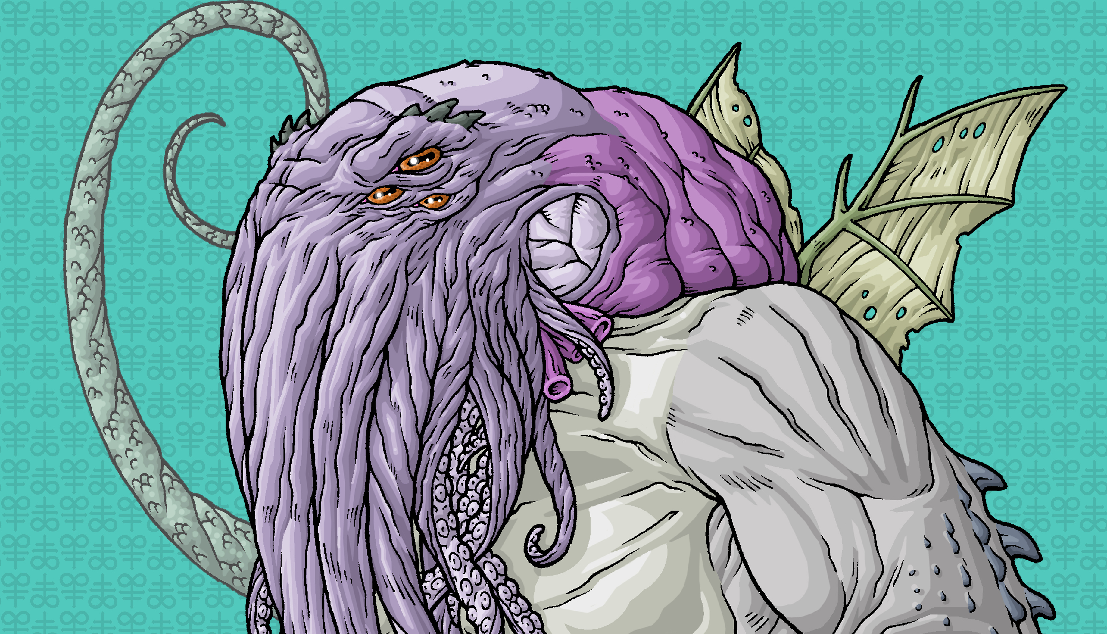 cthulhu from hp lovecraft story