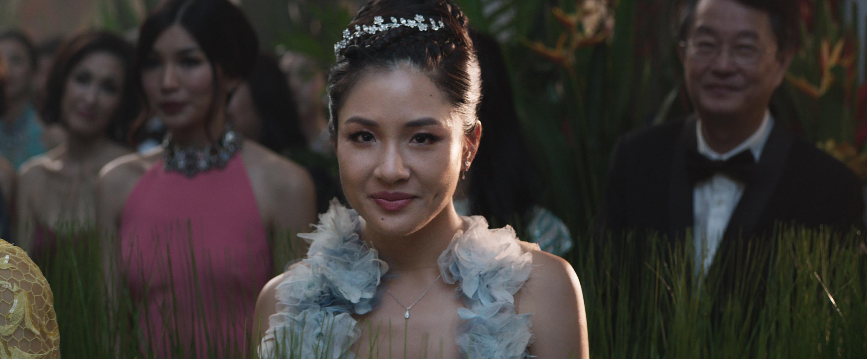 Constance Wu as Rachel Chu in Crazy Rich Asians