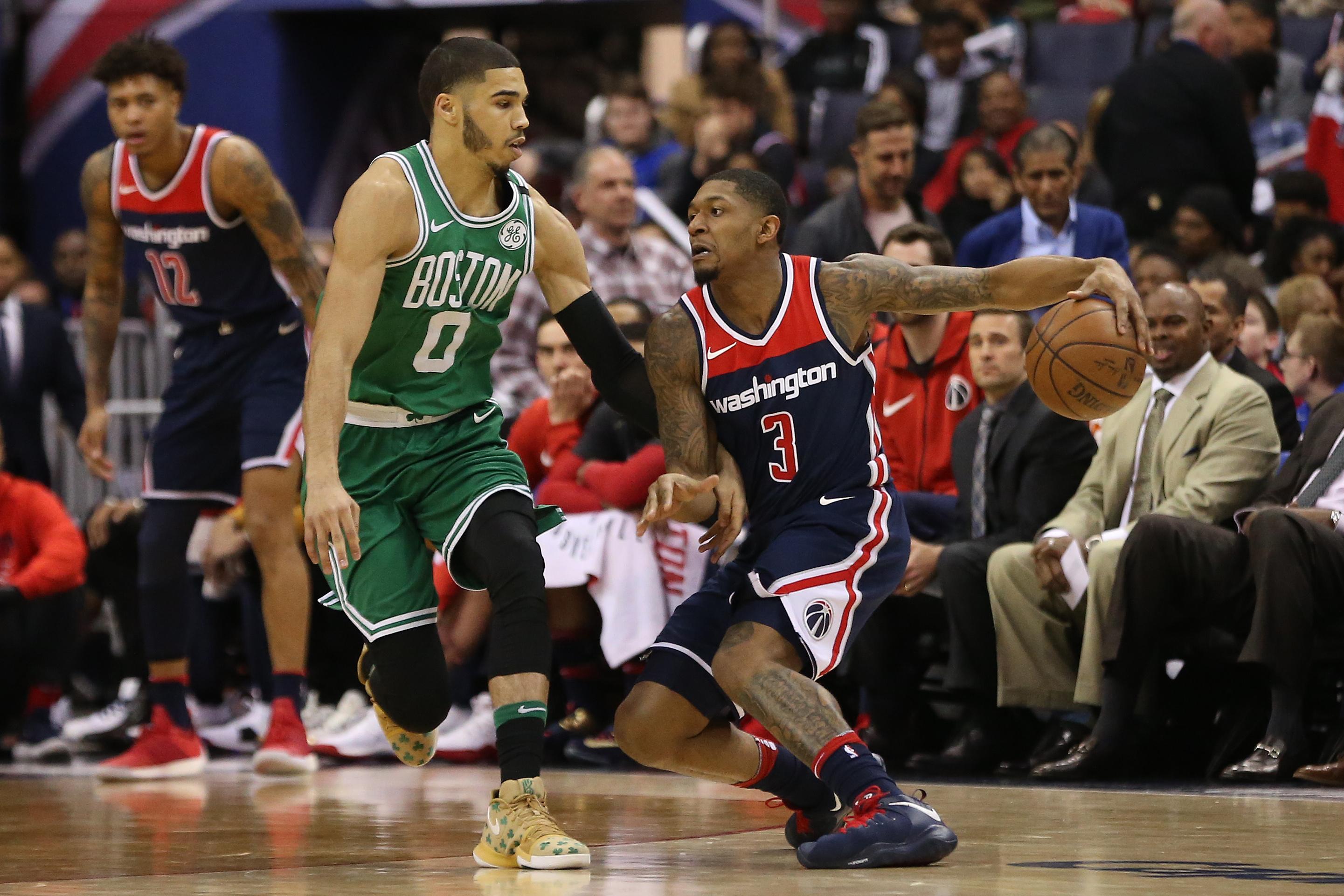 NBA: Boston Celtics at Washington Wizards