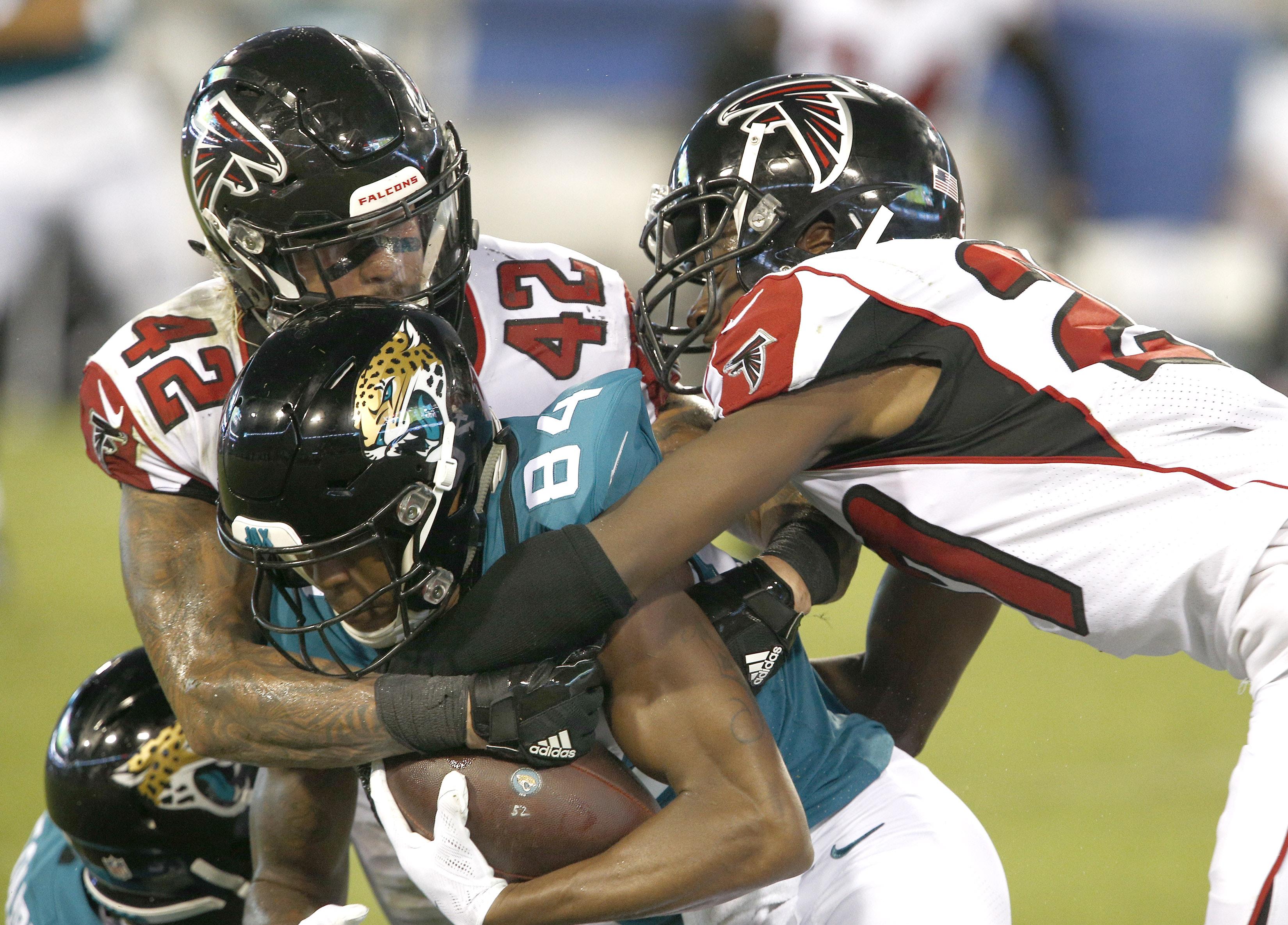 NFL: Atlanta Falcons at Jacksonville Jaguars