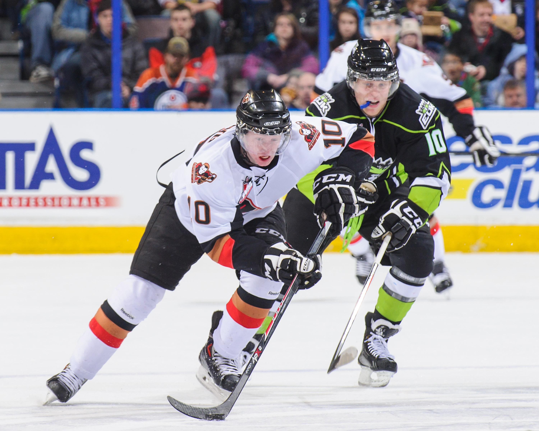 Calgary Hitmen vs Edmonton Oil Kings