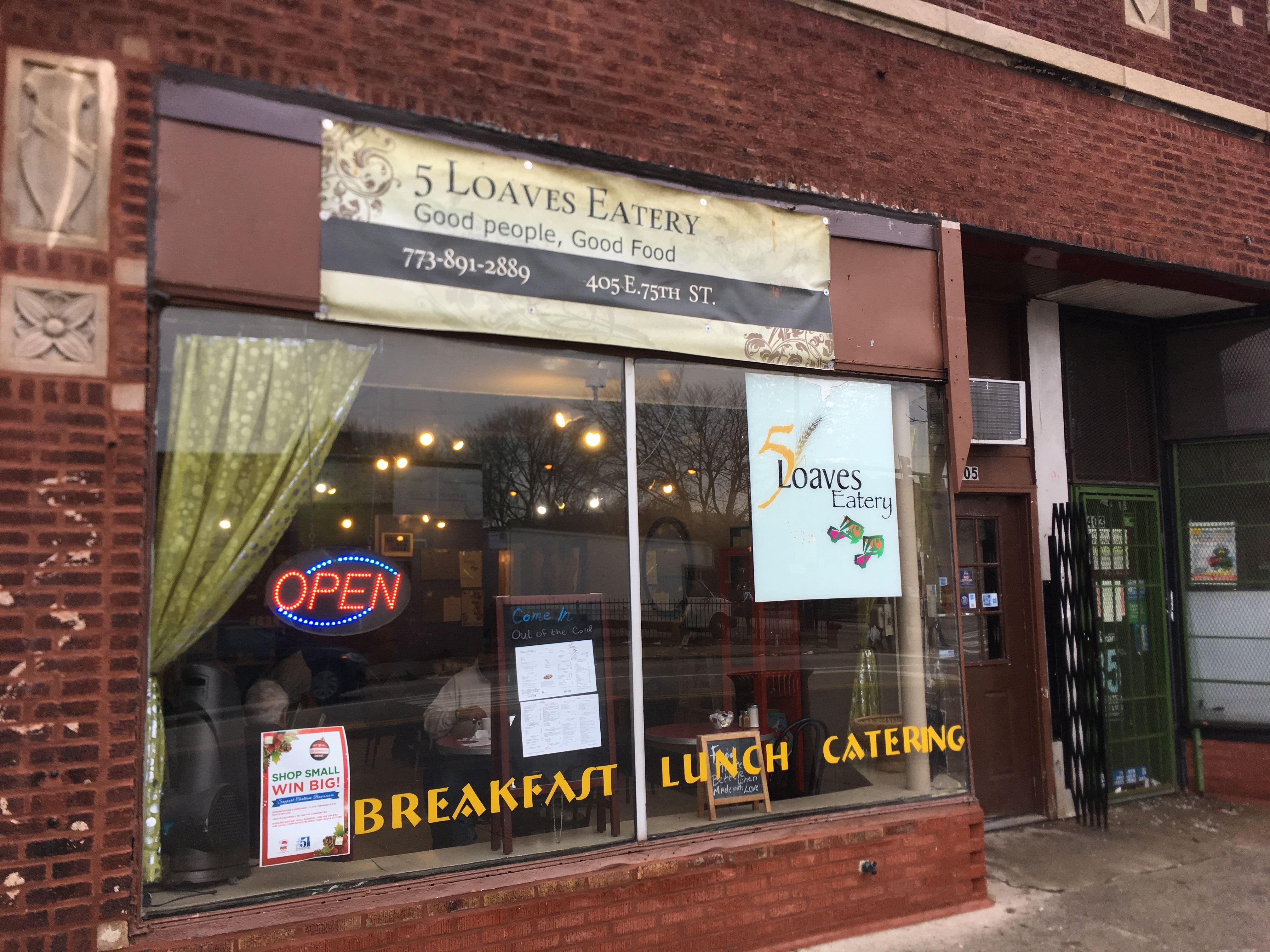 5 loaves eatery