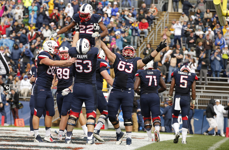 NCAA Football: Central Florida at Connecticut