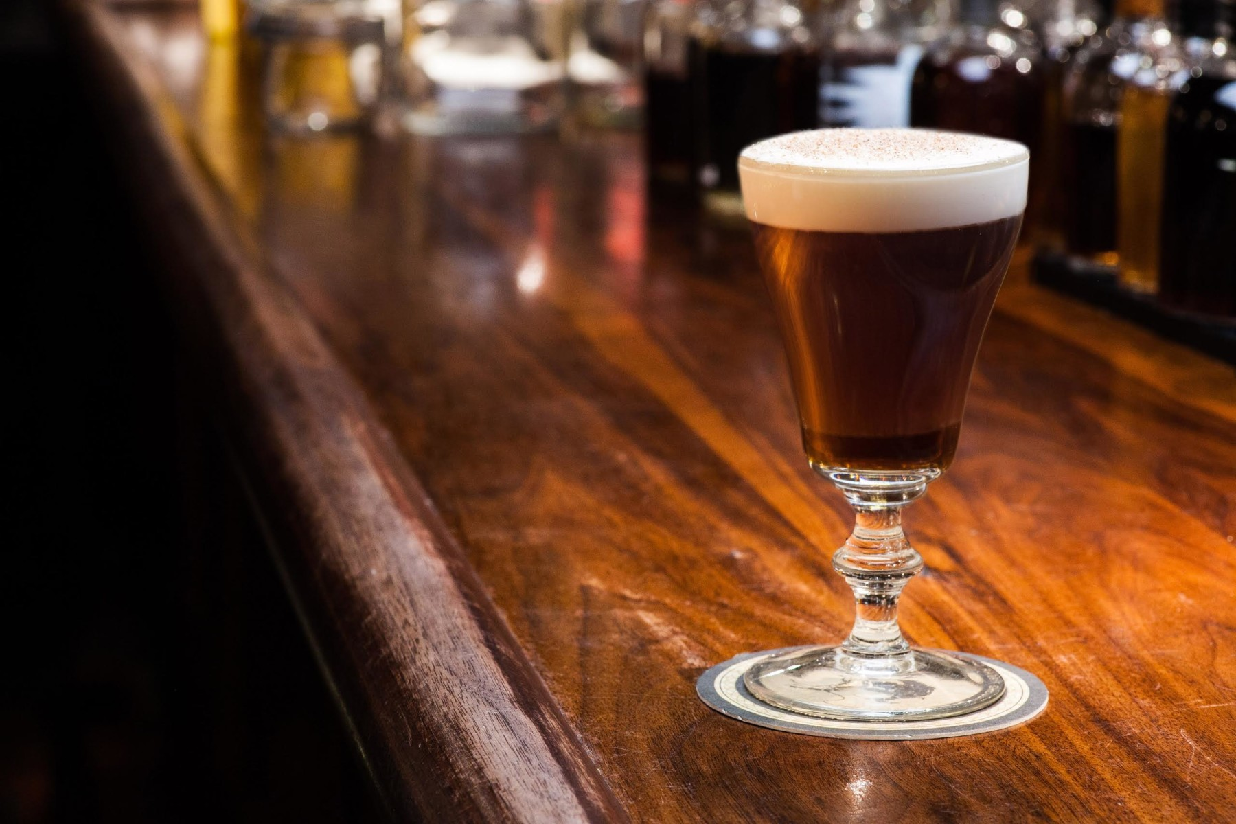 Dead Rabbit New York City's Irish Coffee, which made it World's Best Bar 2016 — the bar is popping up in London for London Cocktail Week 2018