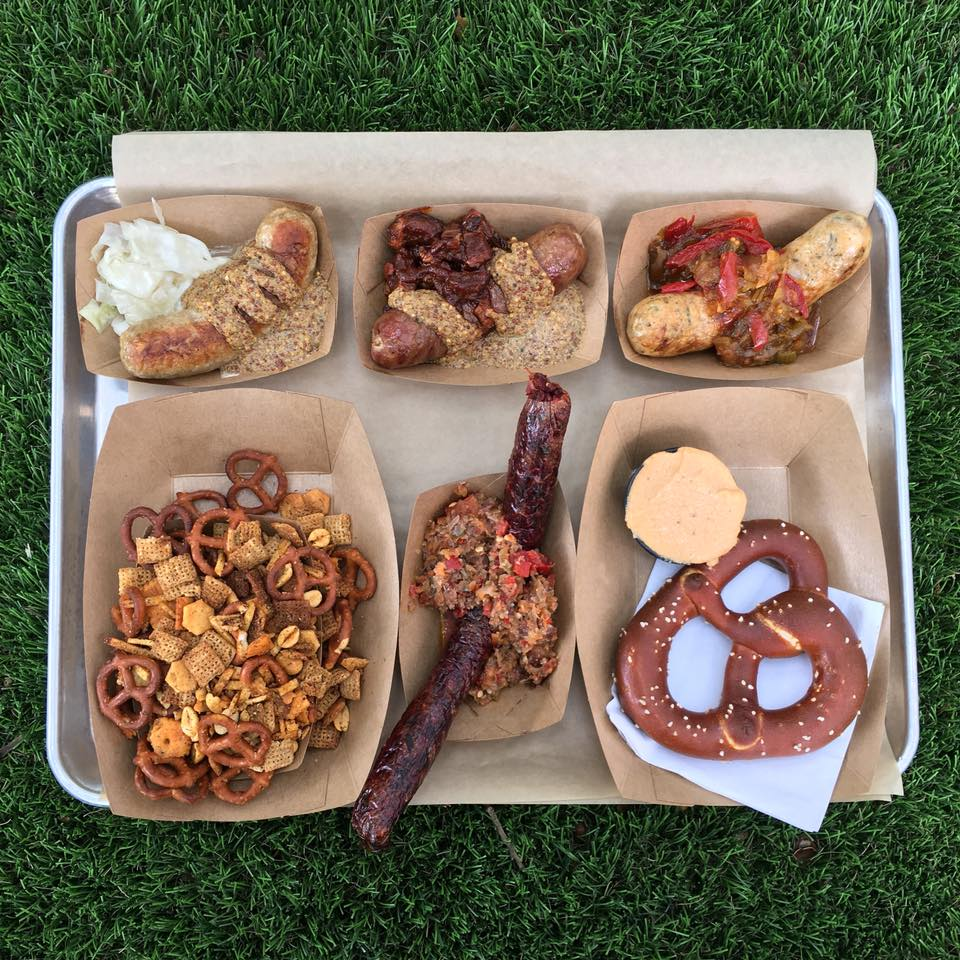 Sausages and snacks from Easy Tiger
