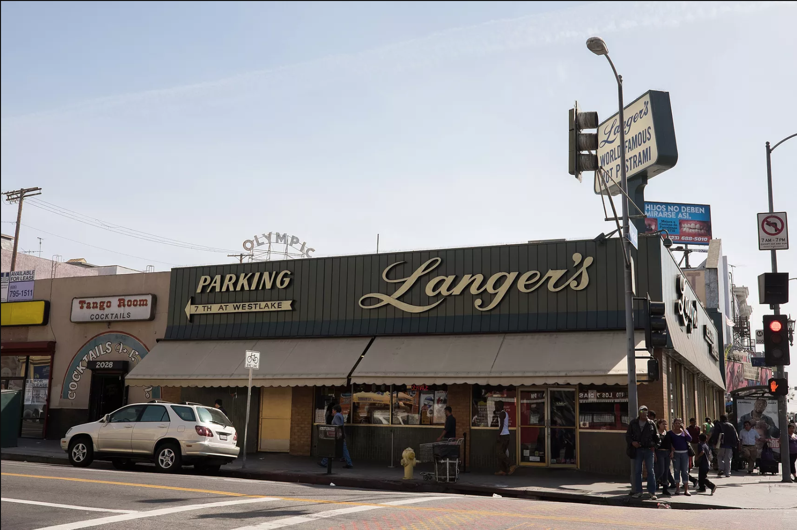 Iconic Langer's property is for sale in Westlake, marketed as development opportunity