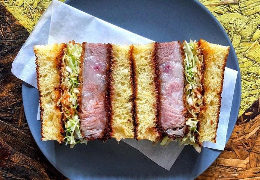 2018 restaurant trend, the katsu sando, which London restaurant Instagram is now over