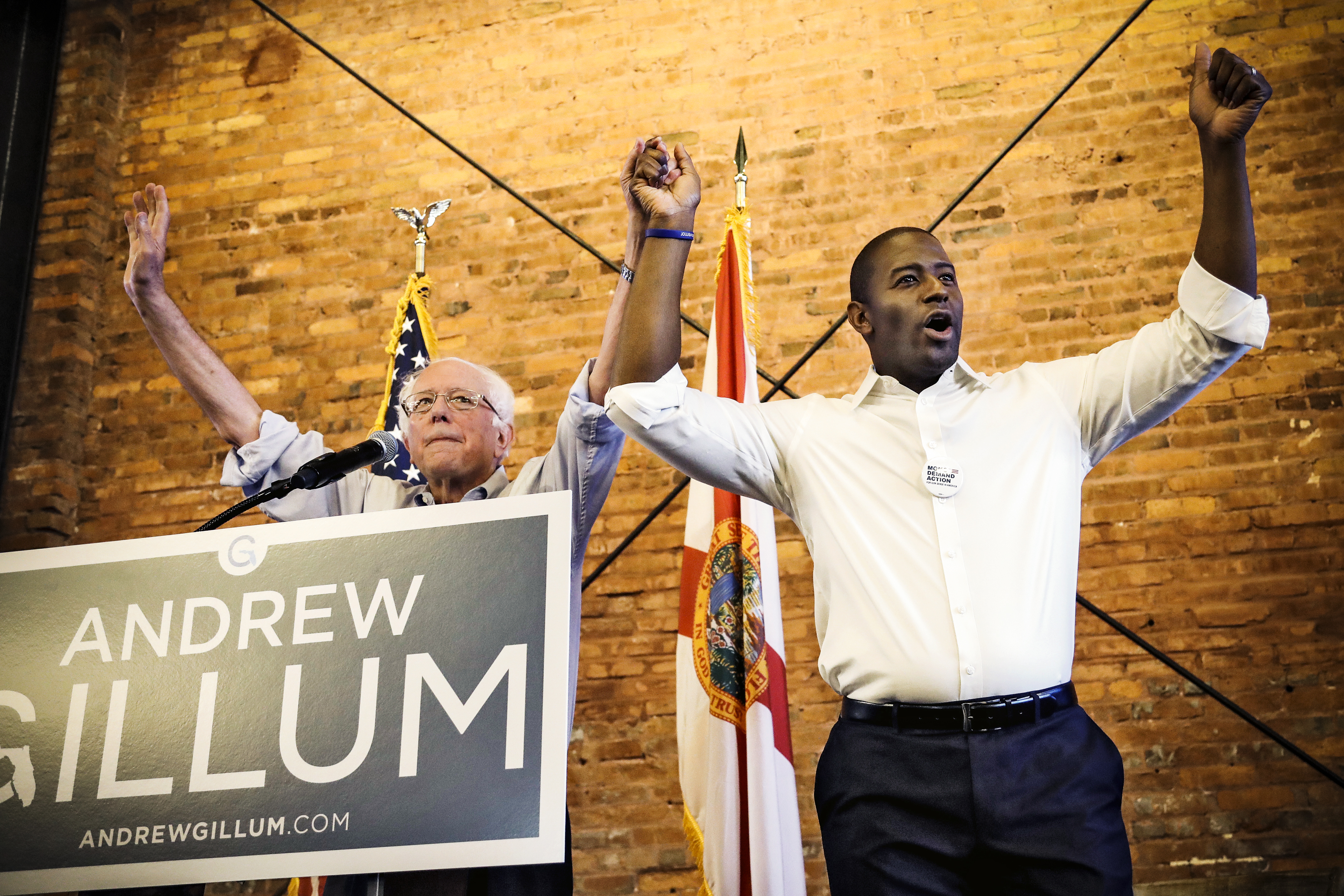 Andrew Gillum wins Florida governor primary in upset victory for the left