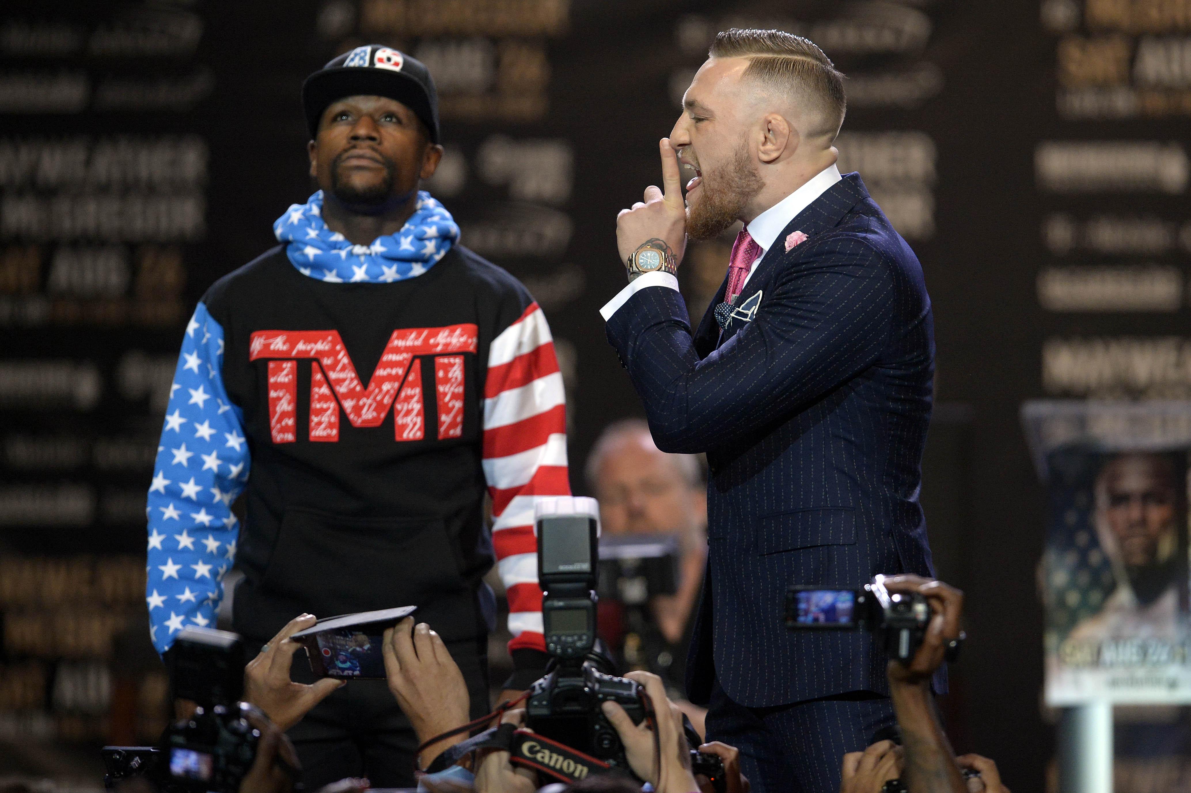 Boxing: Mayweather vs McGregor-World Tour