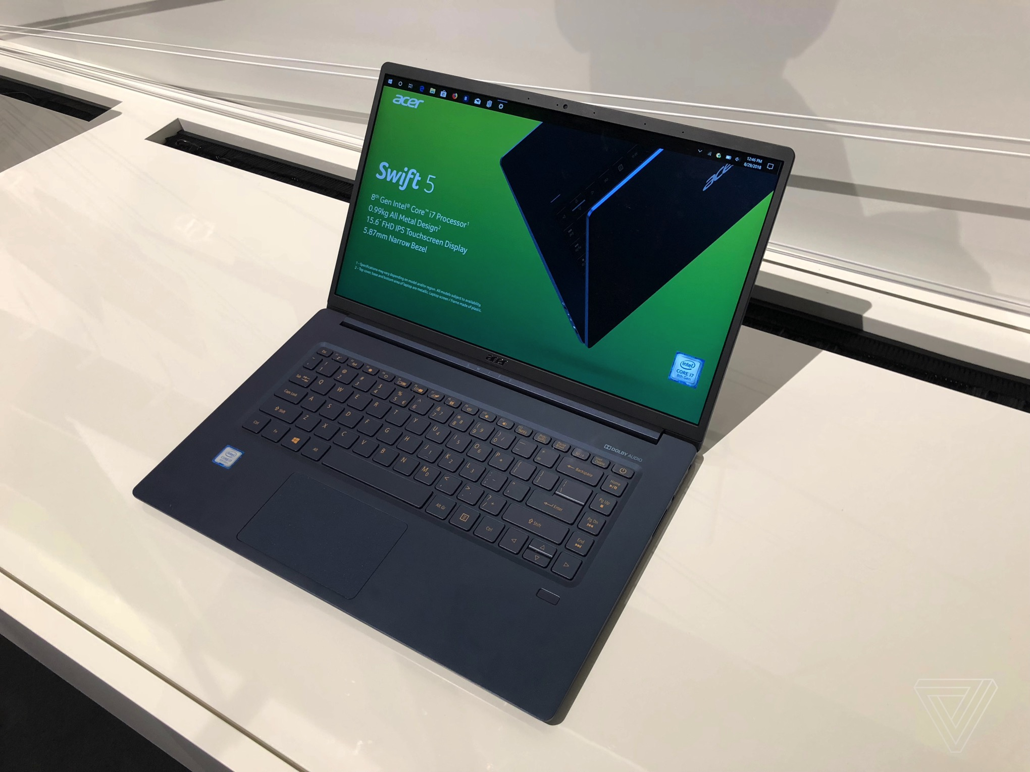 Acer's lightweight Swift 5 will cost $1,099 when it's released in