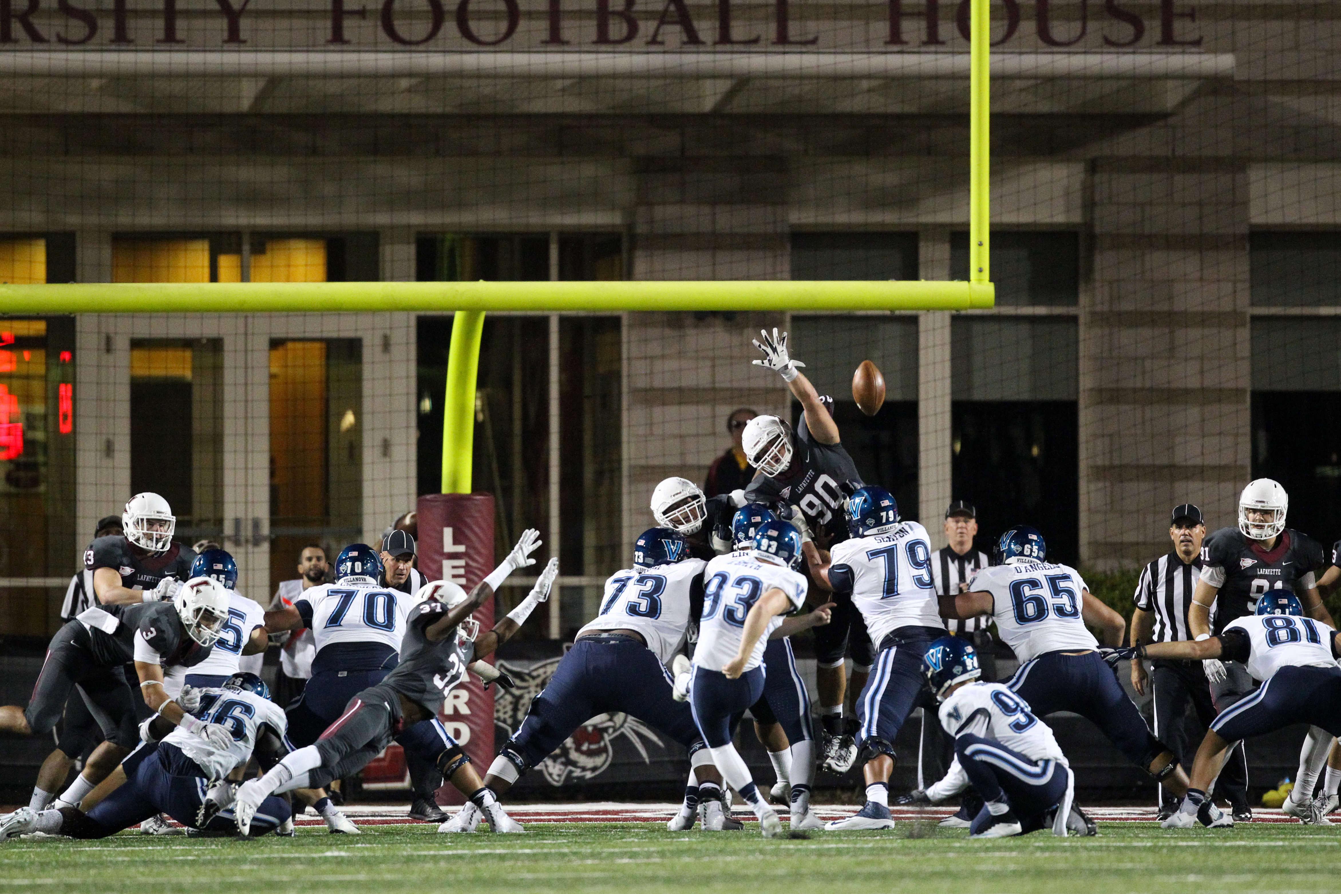 NCAA Football: Villanova at Lafayette