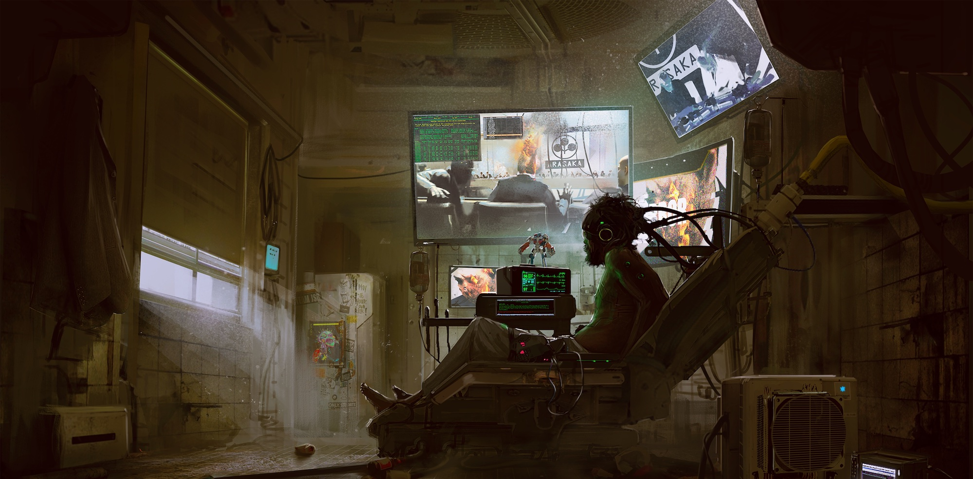 What is cyberpunk?