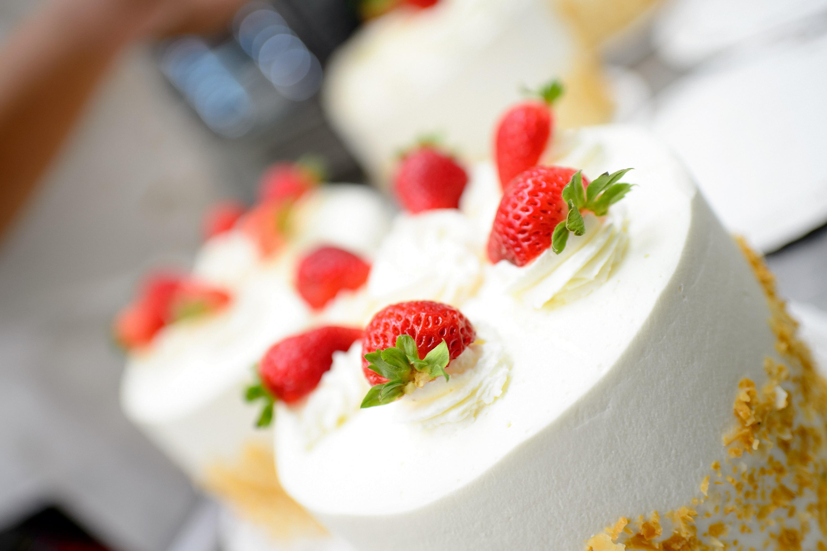 Strawberry shortcake at Freed's Dessert