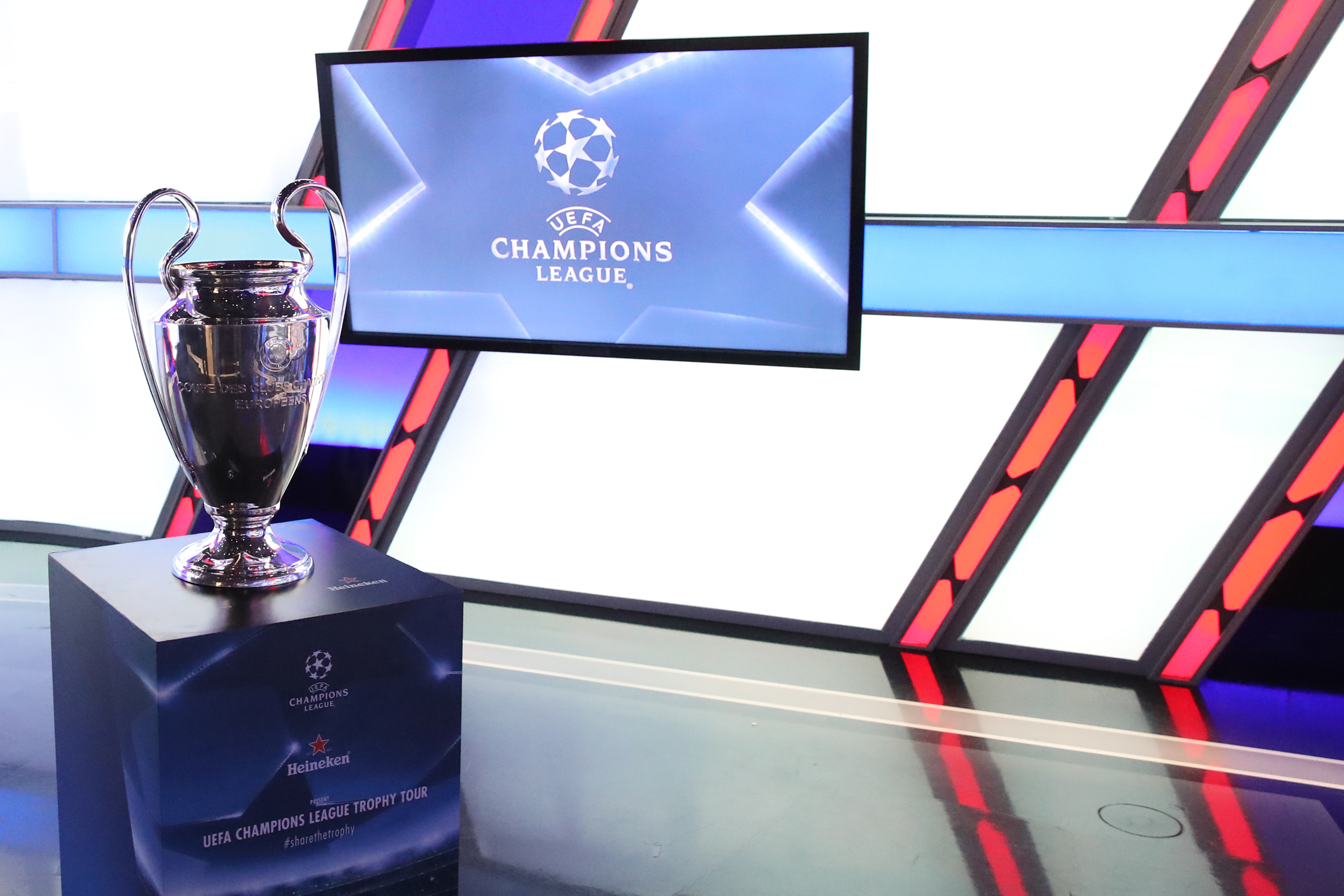 UEFA Champions League Trophy Tour presented by Heineken - Mexico City