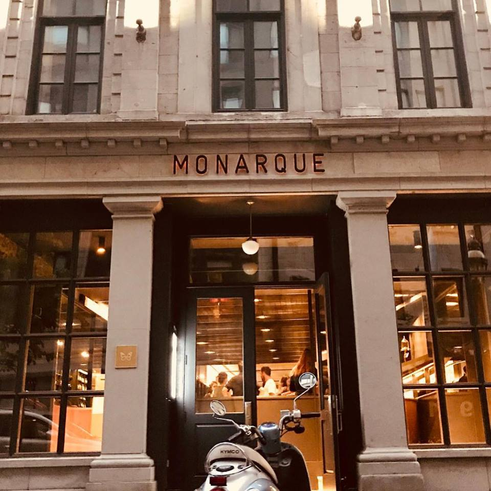 Majestic Restaurant Monarque Arrives, From Leméac Father-Son Duo