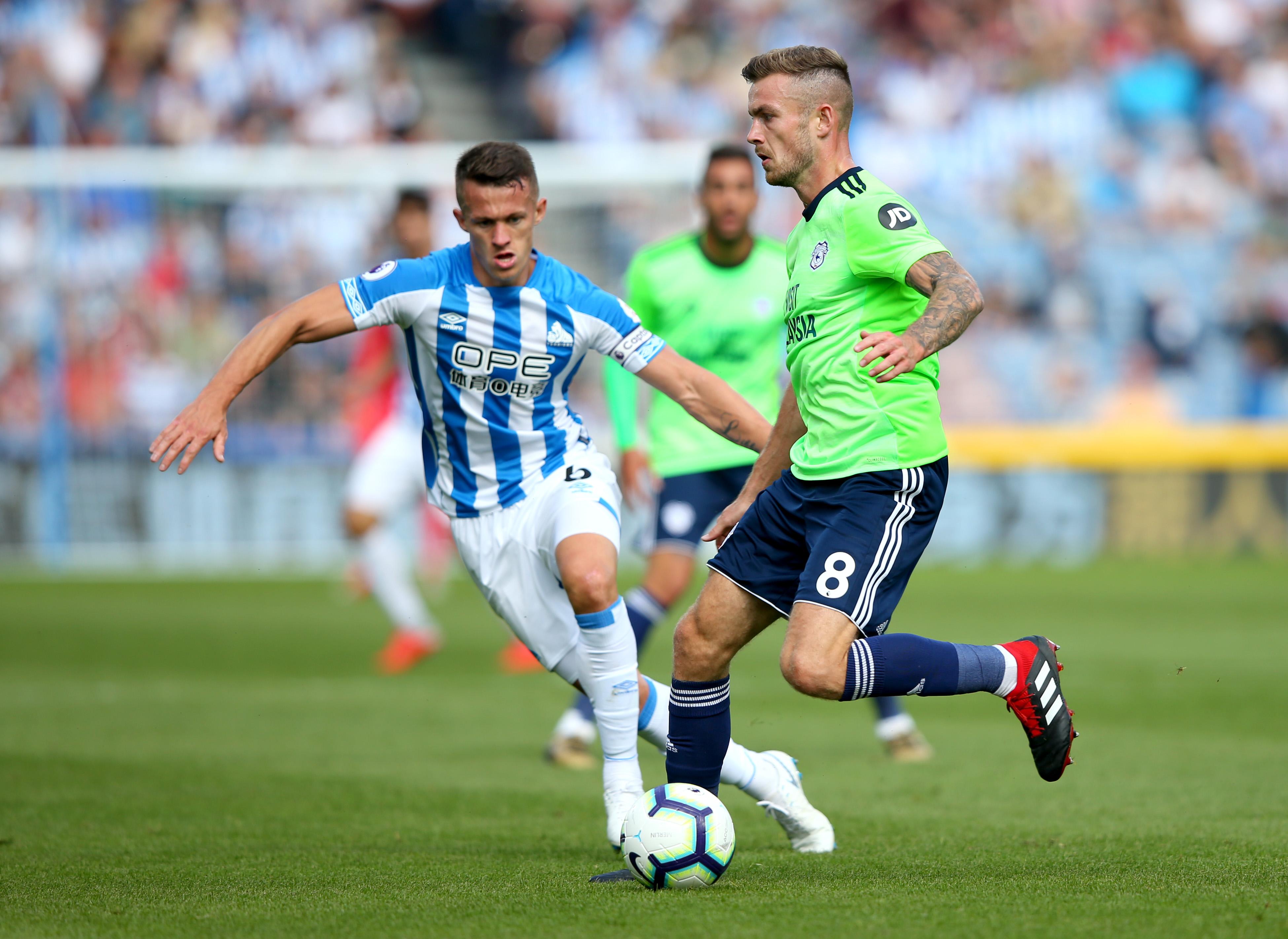 Huddersfield Town v Cardiff City - Premier League