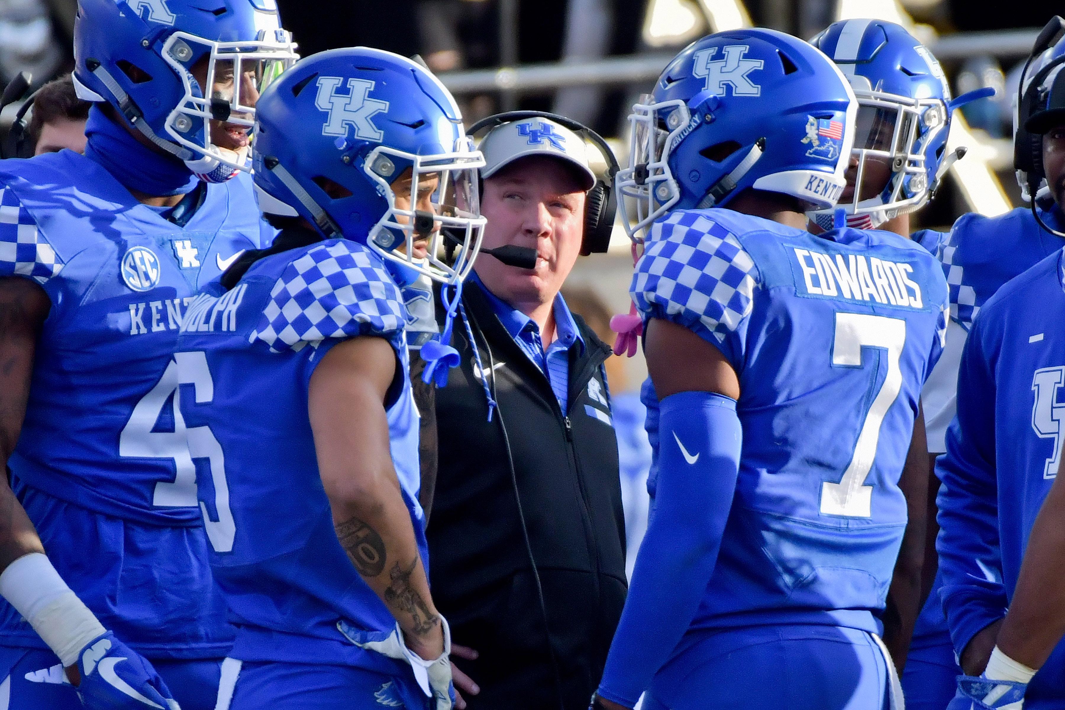 NCAA Football: Kentucky at Vanderbilt