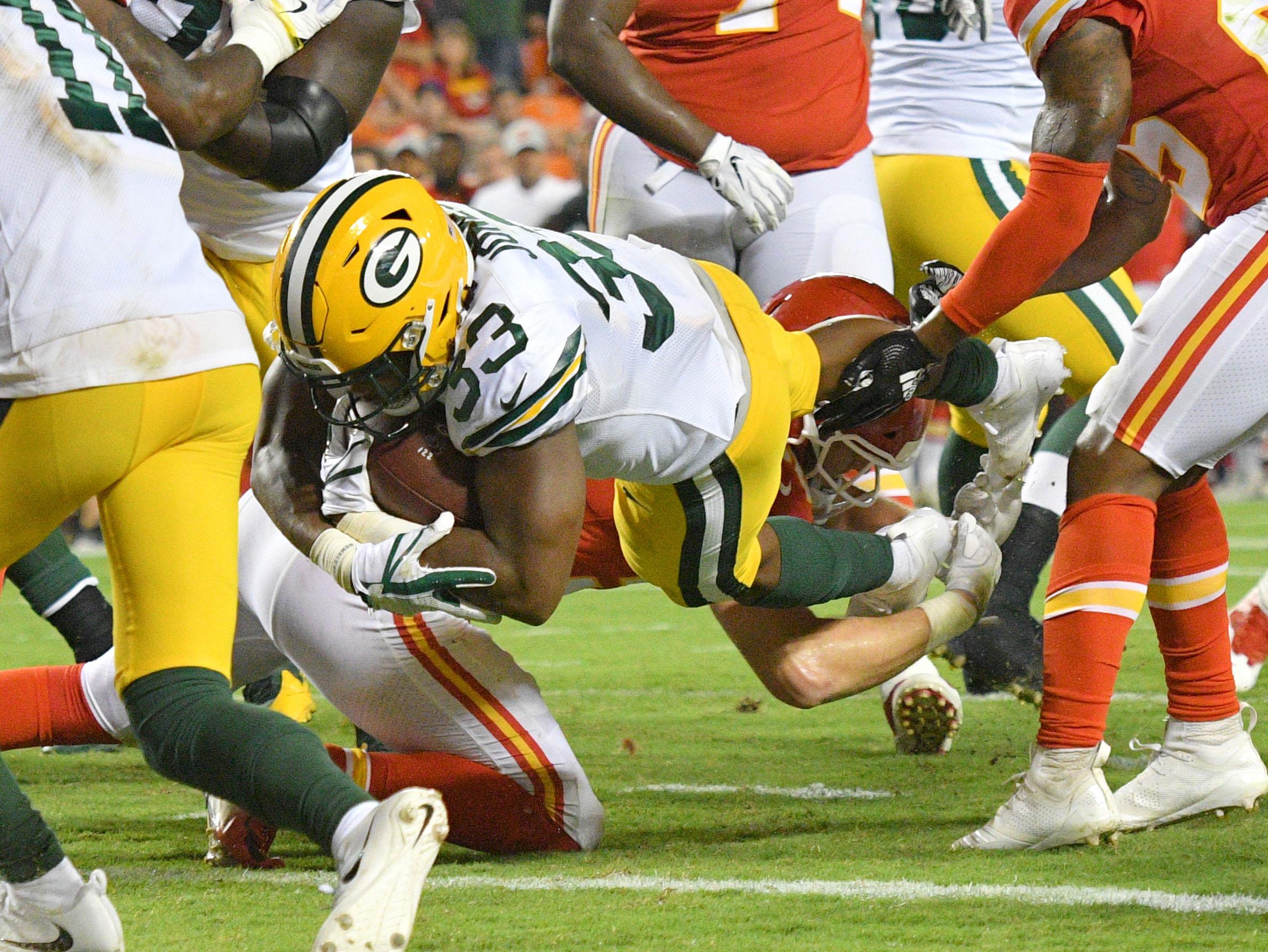 NFL: Green Bay Packers at Kansas City Chiefs