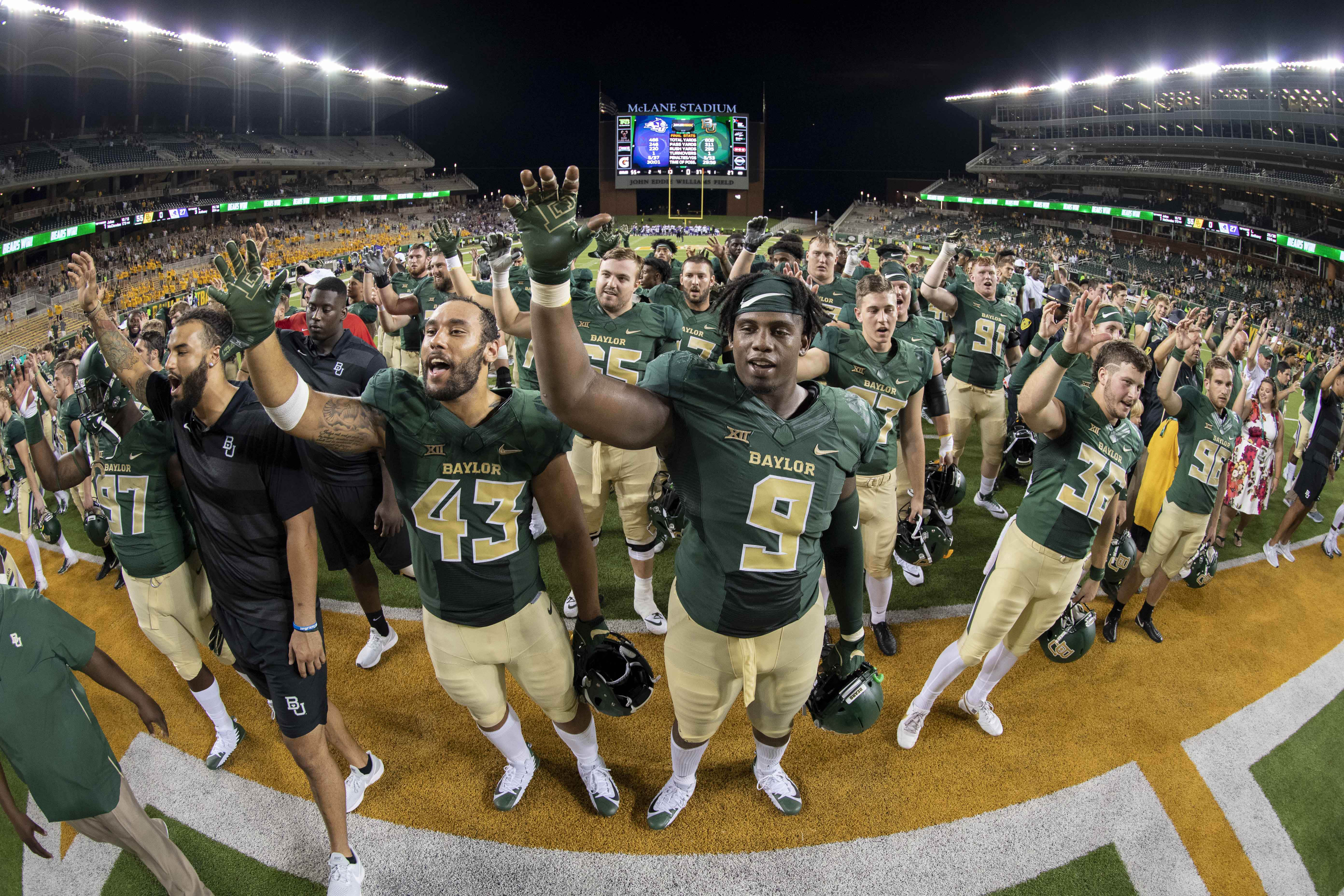 6a1d8f8f2384 Thoughts on Baylor s Season-Opening Win vs. Abilene Christian - Our ...