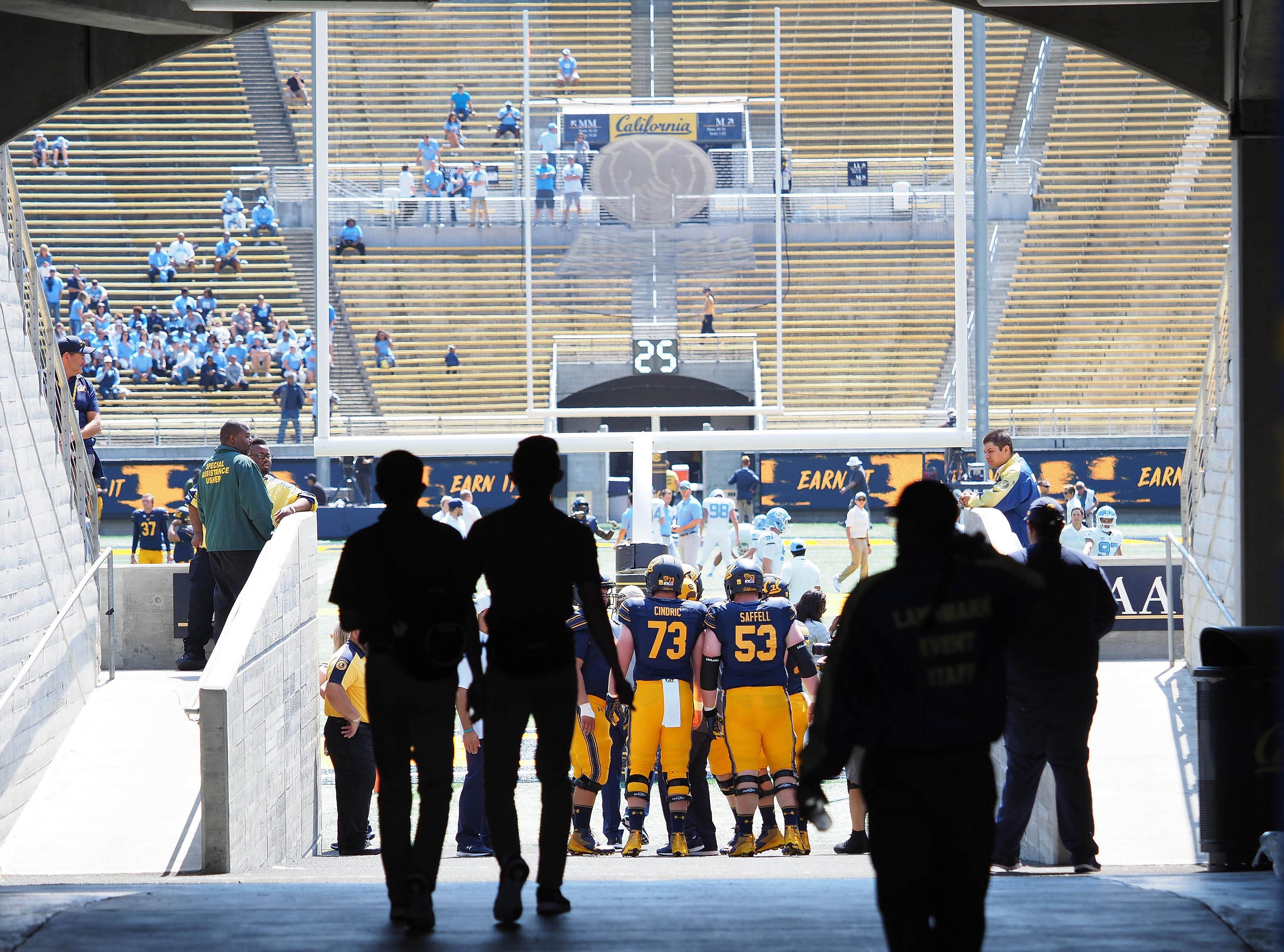 NCAA Football: North Carolina at California