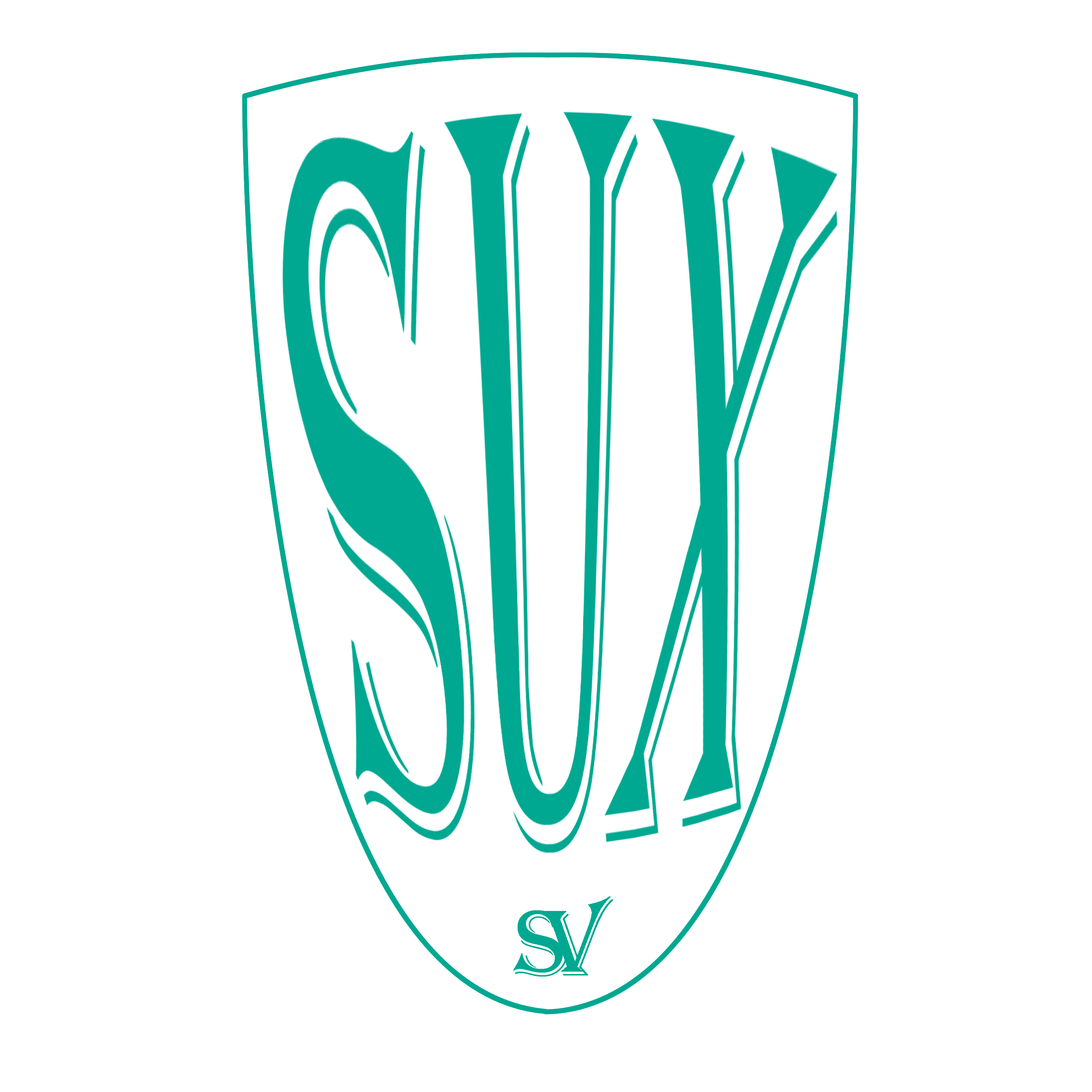 The crest of SV Suxdorf, from the Computer Generated Bundesliga