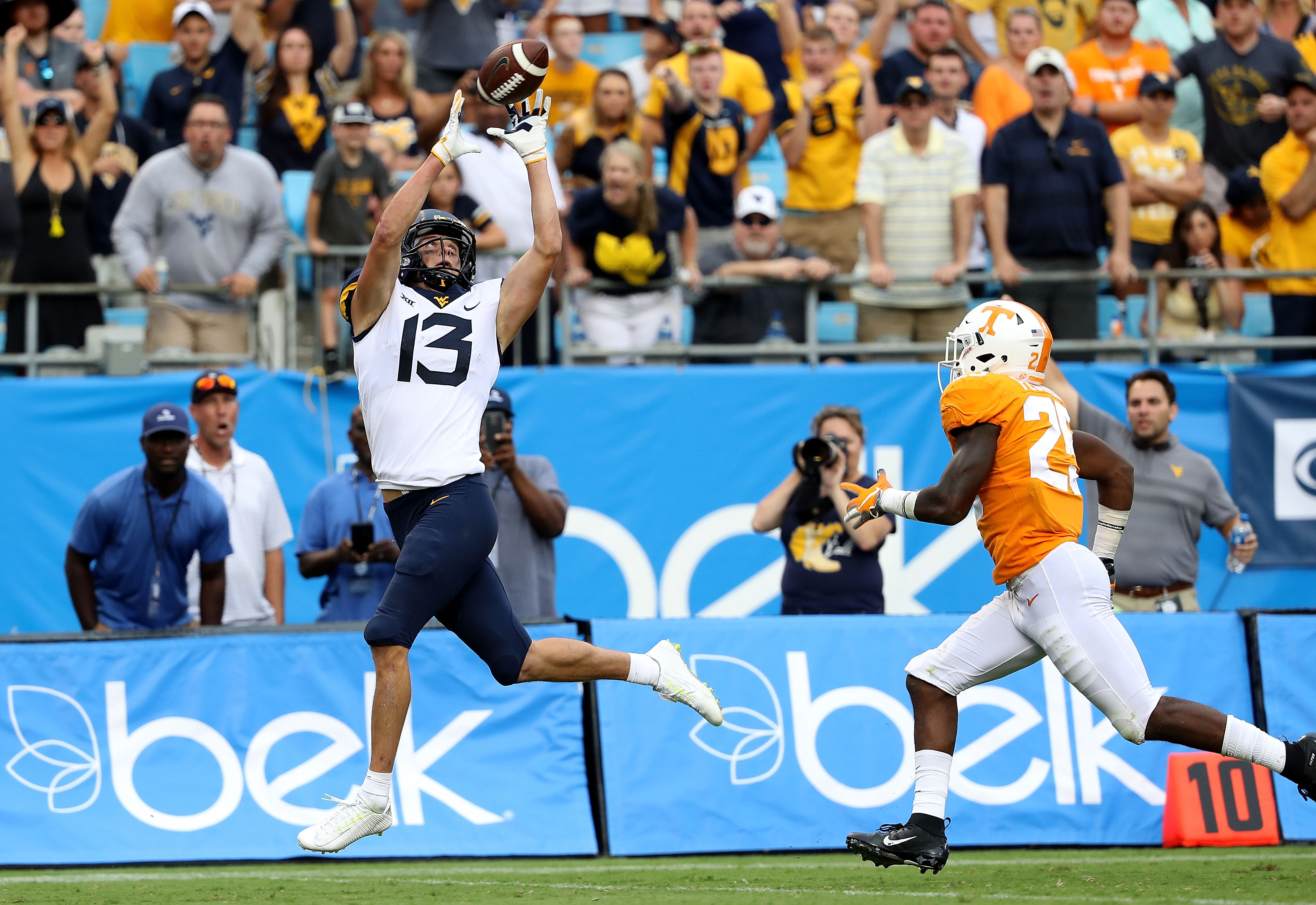 Vols Football: Tennessee vs  West Virginia Film Study Review - Rocky