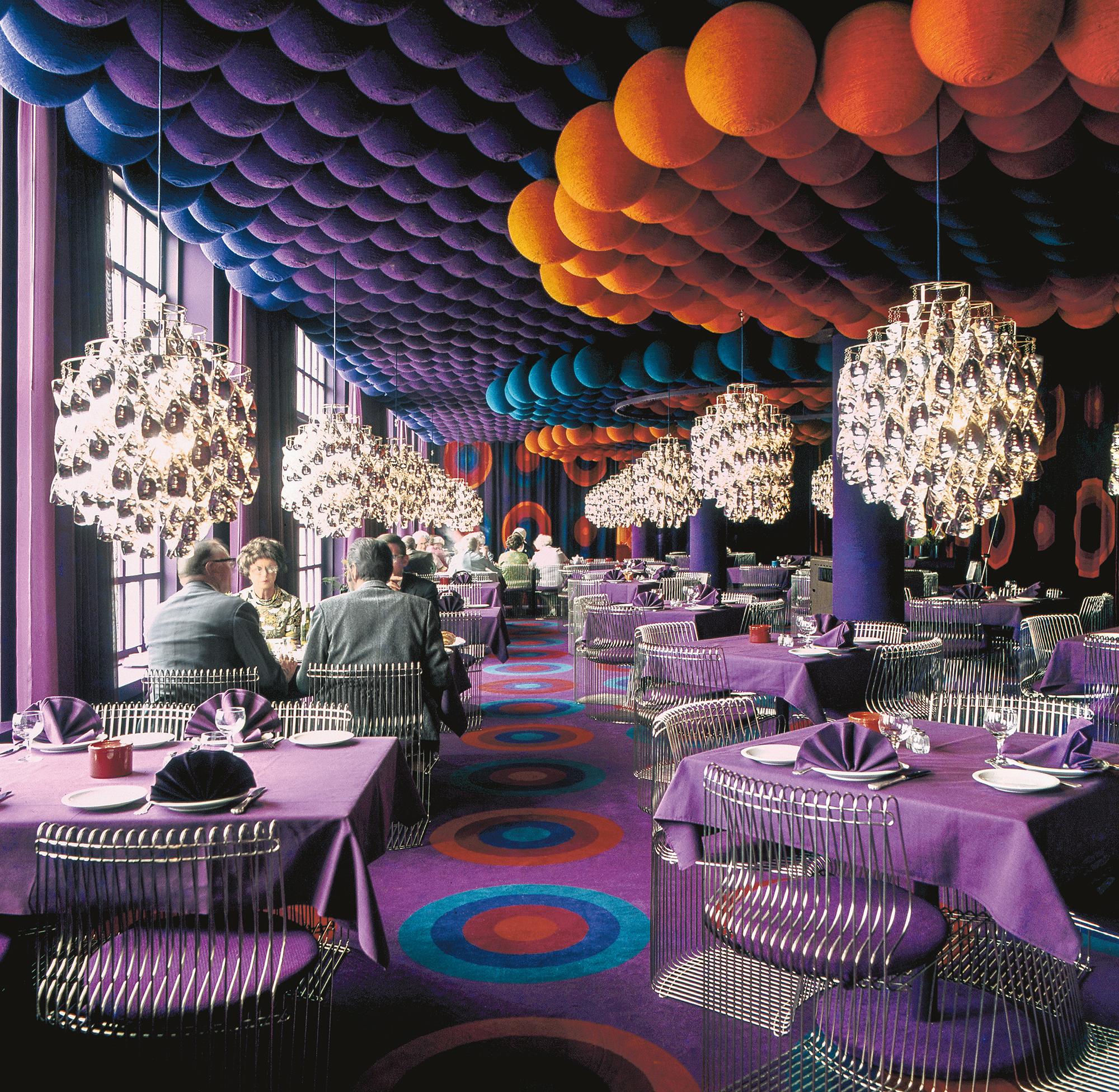 Inside the maximalist, kaleidoscopic interiors of Verner Panton
