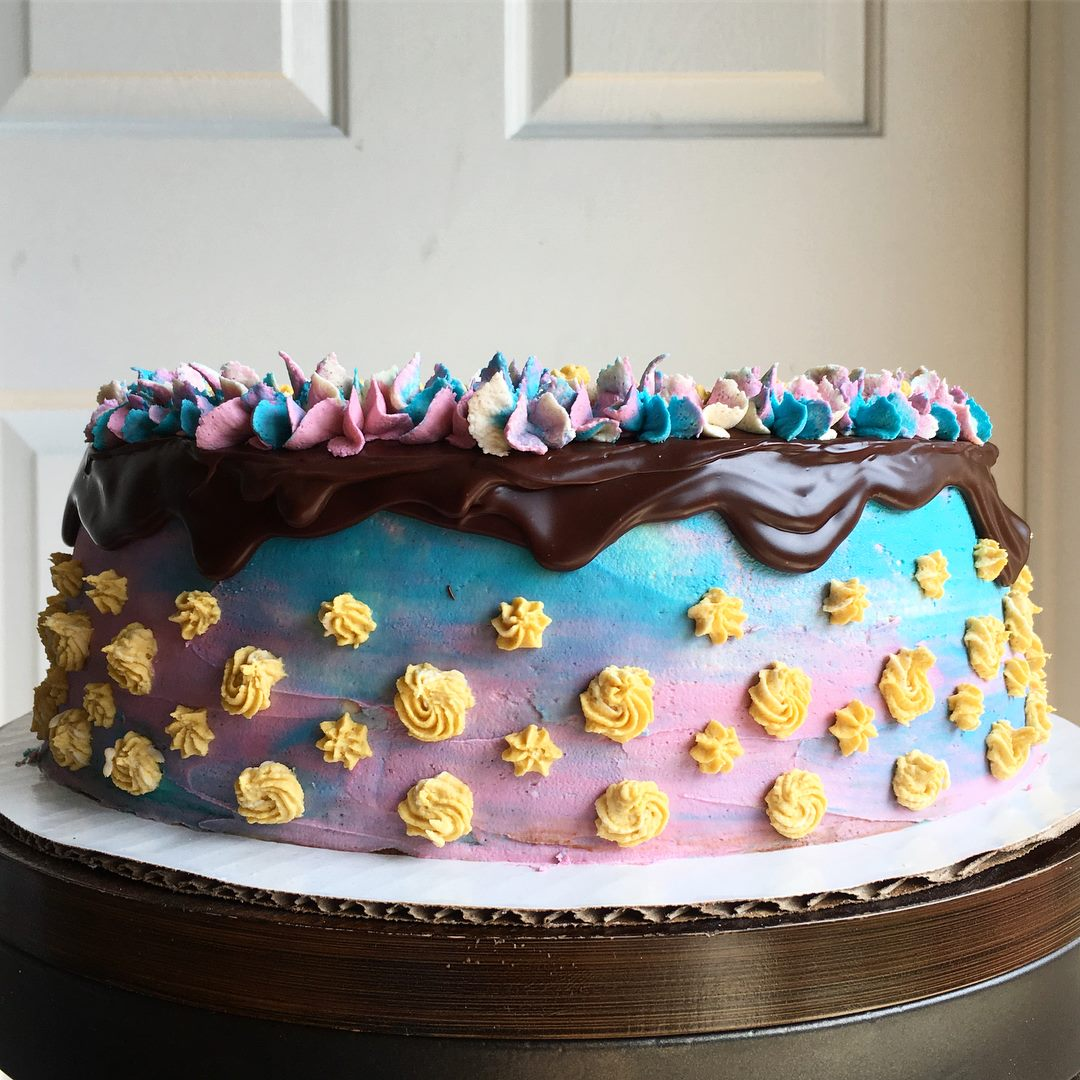A cake from Paper Route Bakery