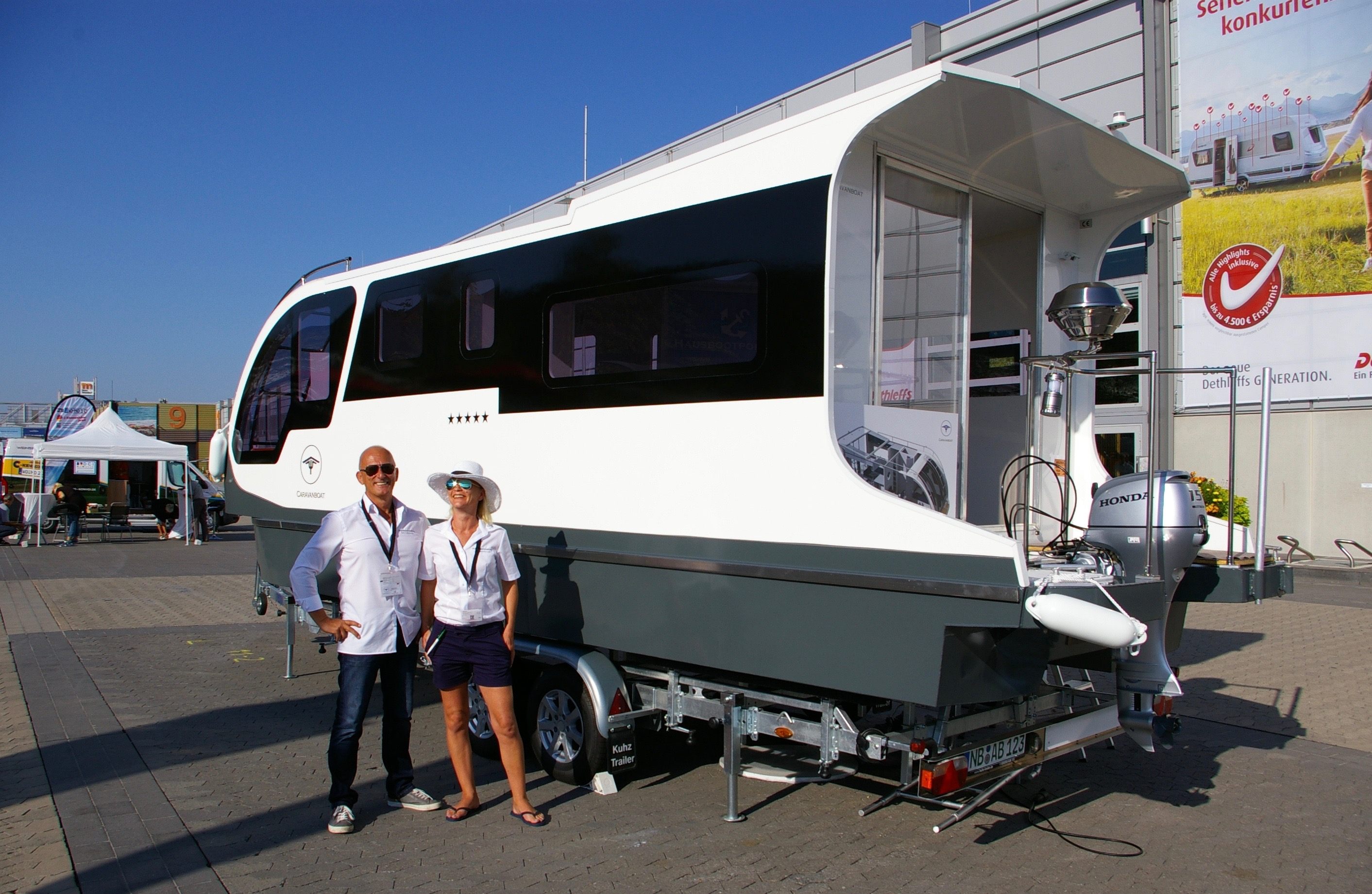This $67K camper is also a boat