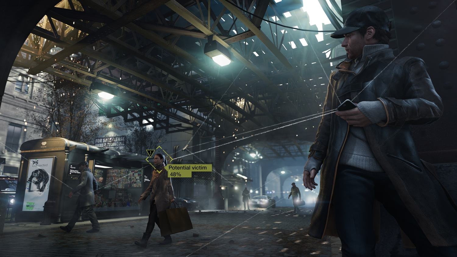 Watch Dogs' voyeurism, moral choices and clever AI