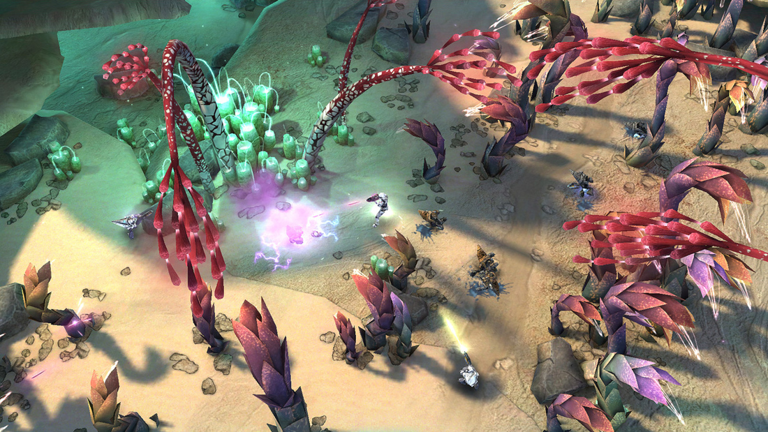 Halo: Spartan Assault is a top-down shooter that's exclusive to Windows 8 devices