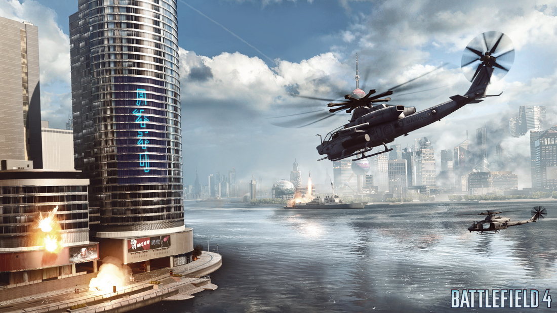 Changing the world in Battlefield 4 multiplayer