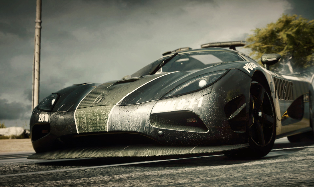 Need for Speed Rivals custom detailed for next-gen, influenced by Battlefield's multiplayer