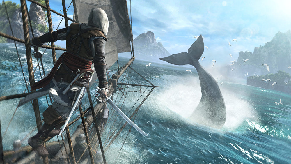 Truth and fantasy in Assassin's Creed 4: Black Flag