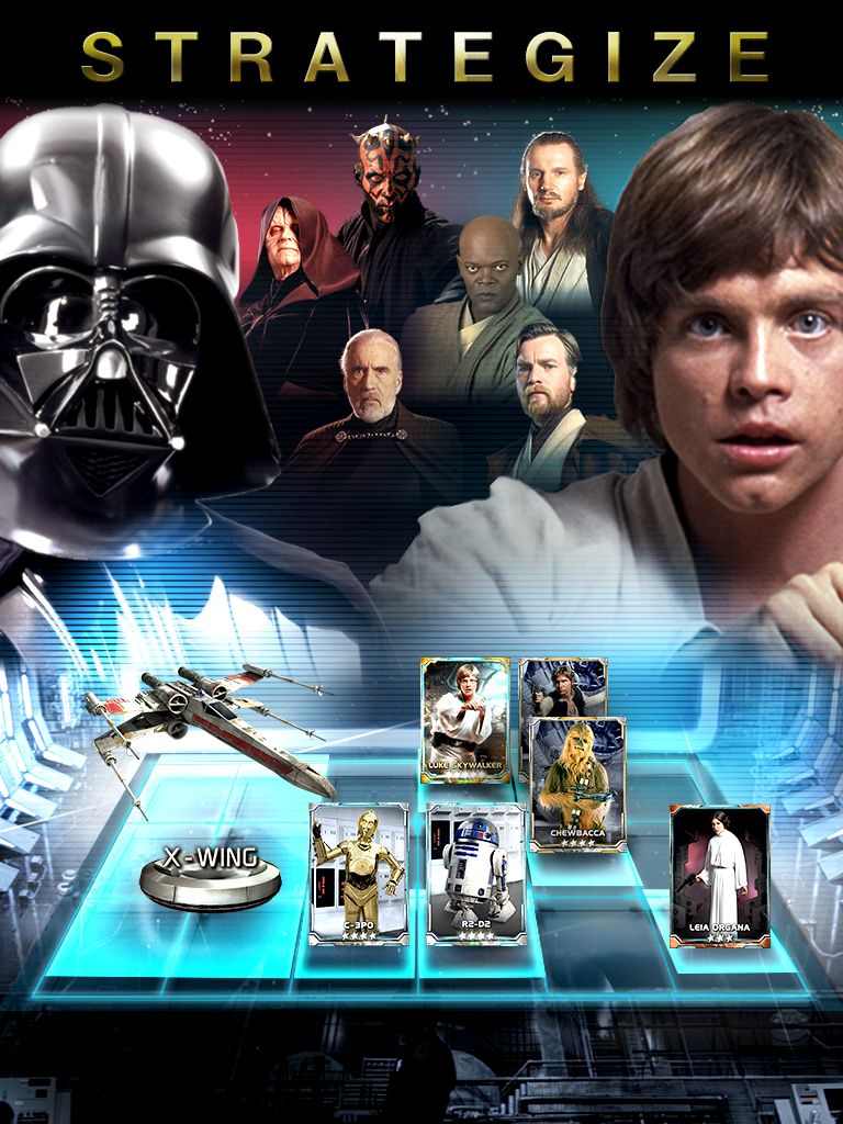 Konami is working on a Star Wars card battle game for iOS and Android