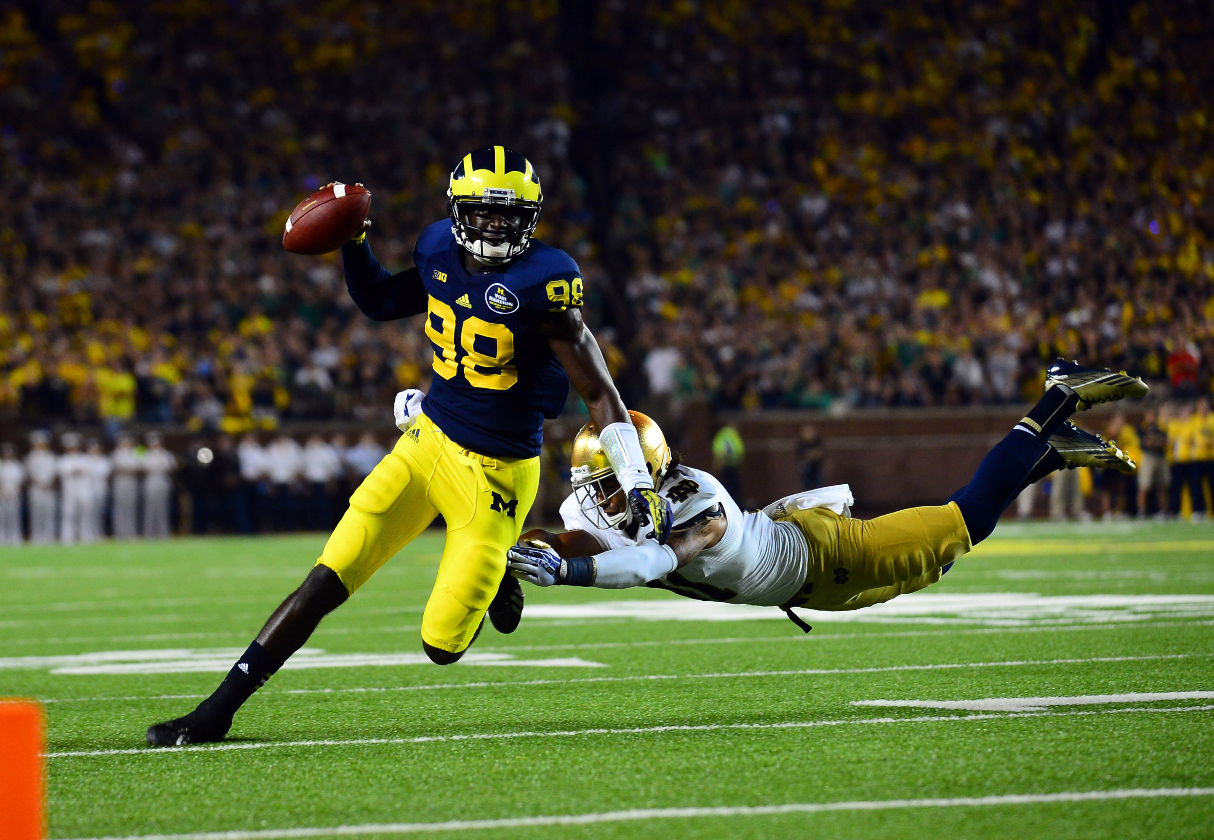 Projected 2013 BCS standings, Week 3: Oregon tops Alabama, but watch out for Michigan